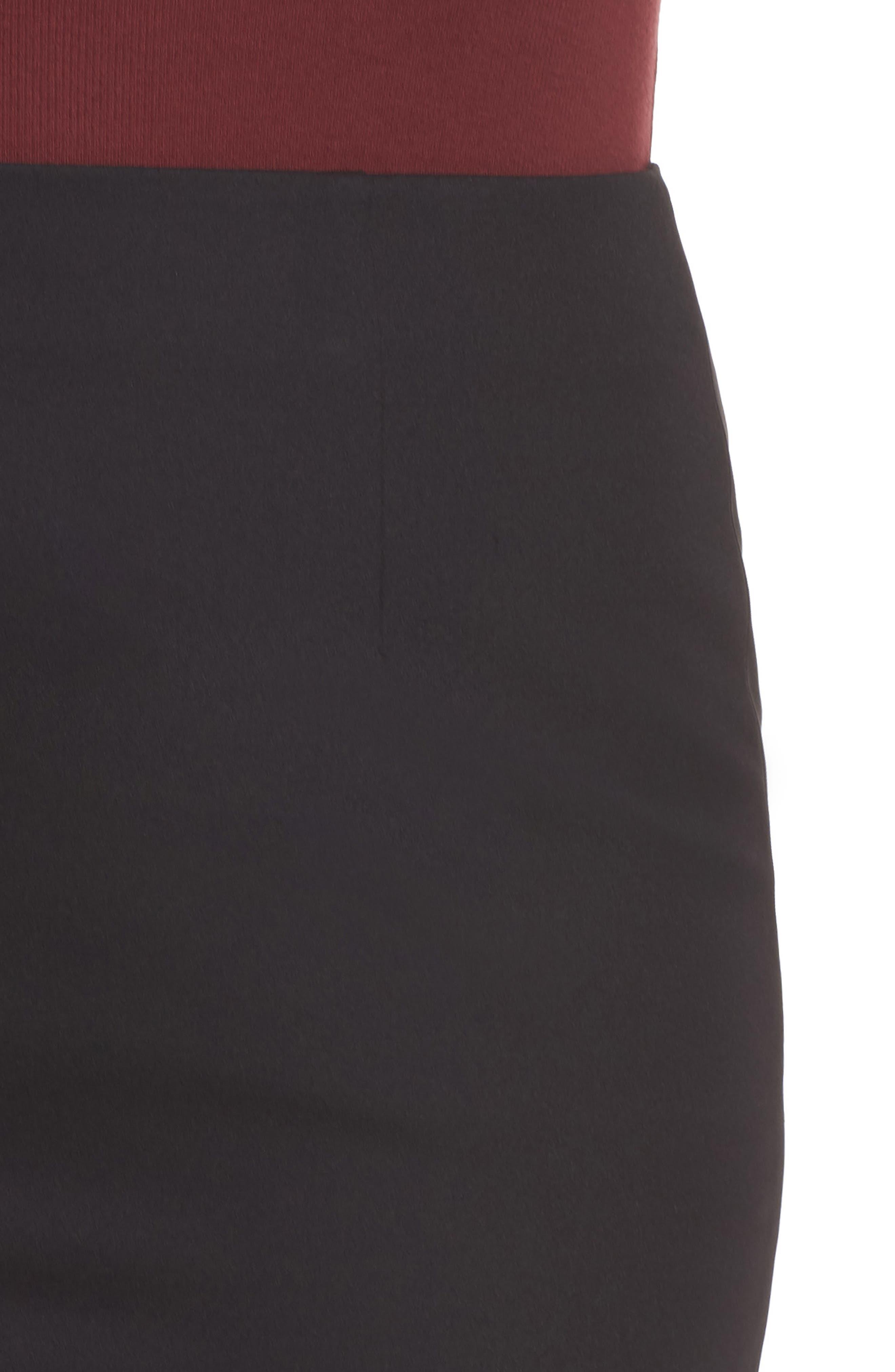 Pencil Skirt,                             Alternate thumbnail 10, color,                             BLACK