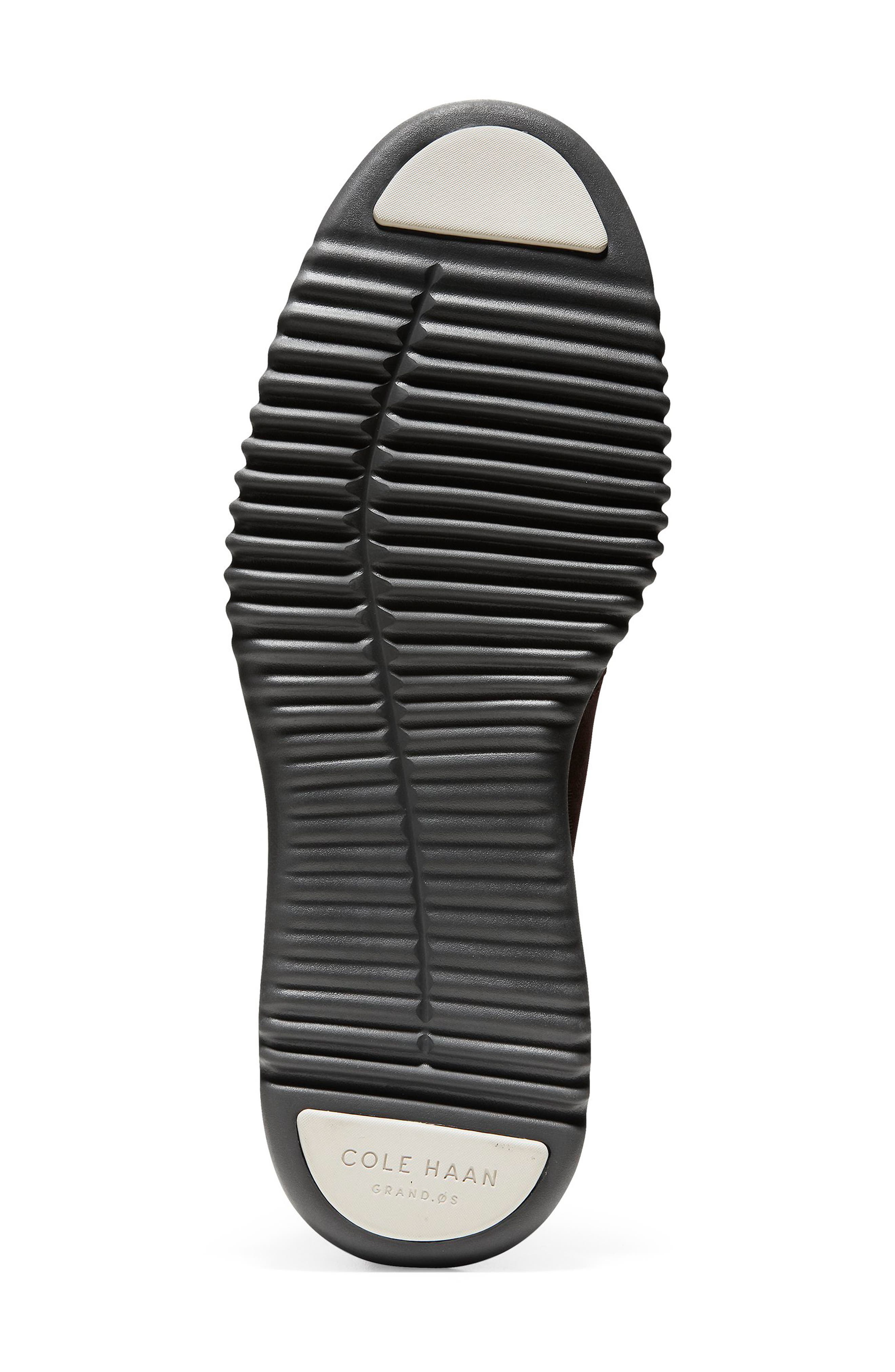 2.Zerogrand Chukka Boot,                             Alternate thumbnail 6, color,                             BLACK/ WALNUT SUEDE