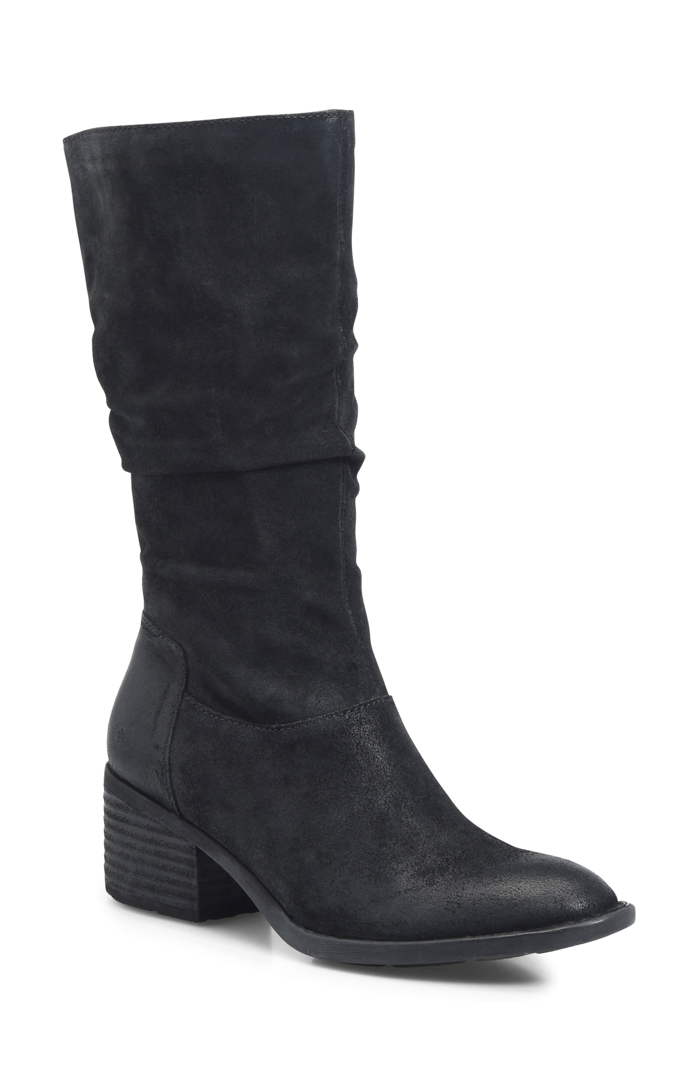 BØRN,                             Peavy Slouch Boot,                             Main thumbnail 1, color,                             001