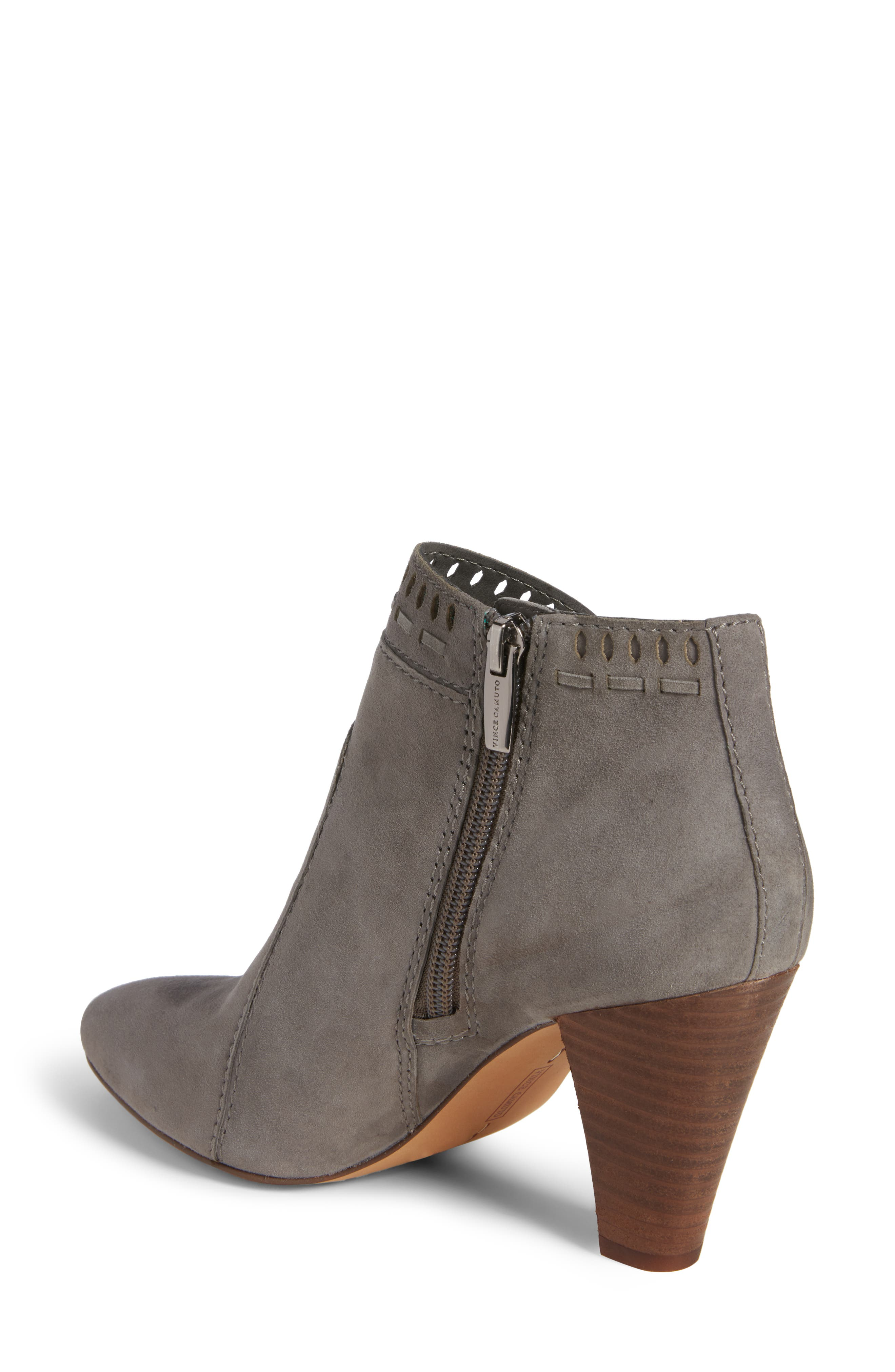 Reeista Bootie,                             Alternate thumbnail 2, color,                             GREYSTONE SUEDE