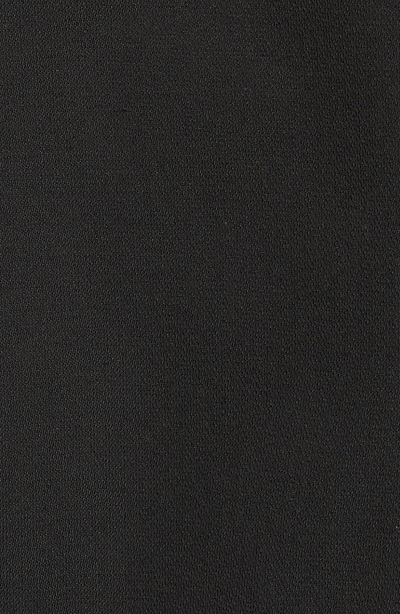 Short Trench Coat,                             Alternate thumbnail 6, color,                             001