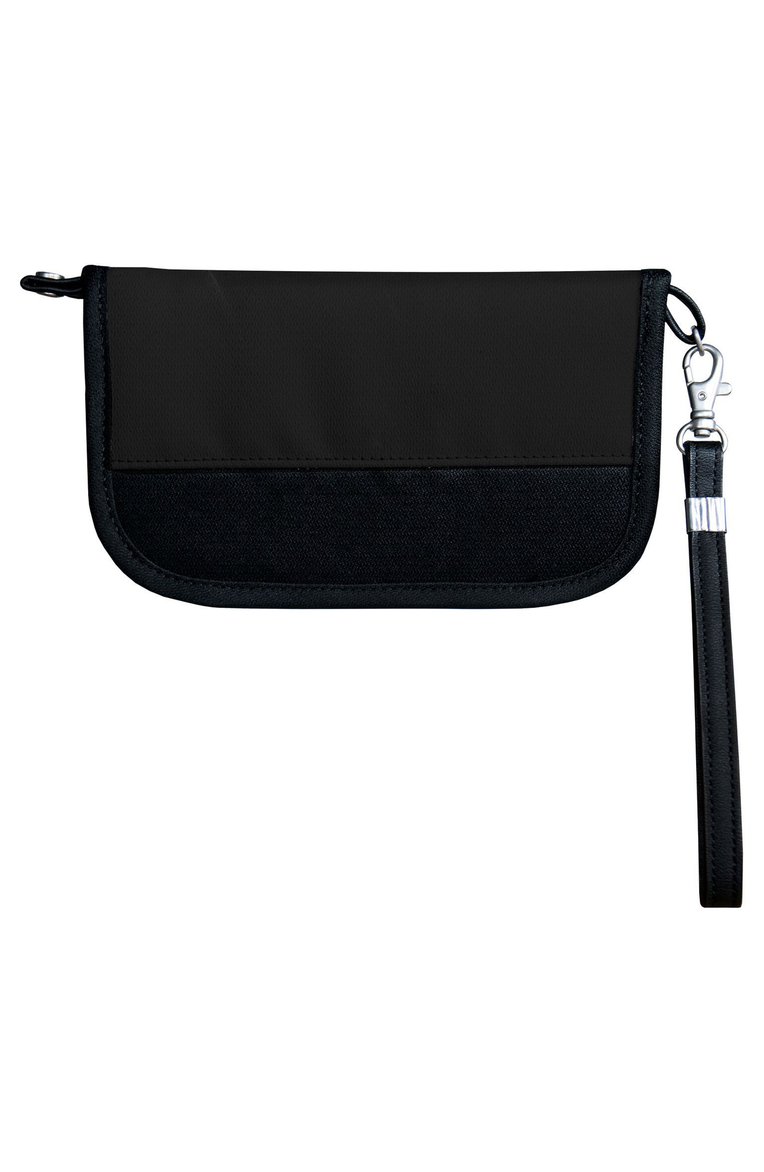 Lucky RFID Wristlet Wallet,                             Alternate thumbnail 3, color,                             001
