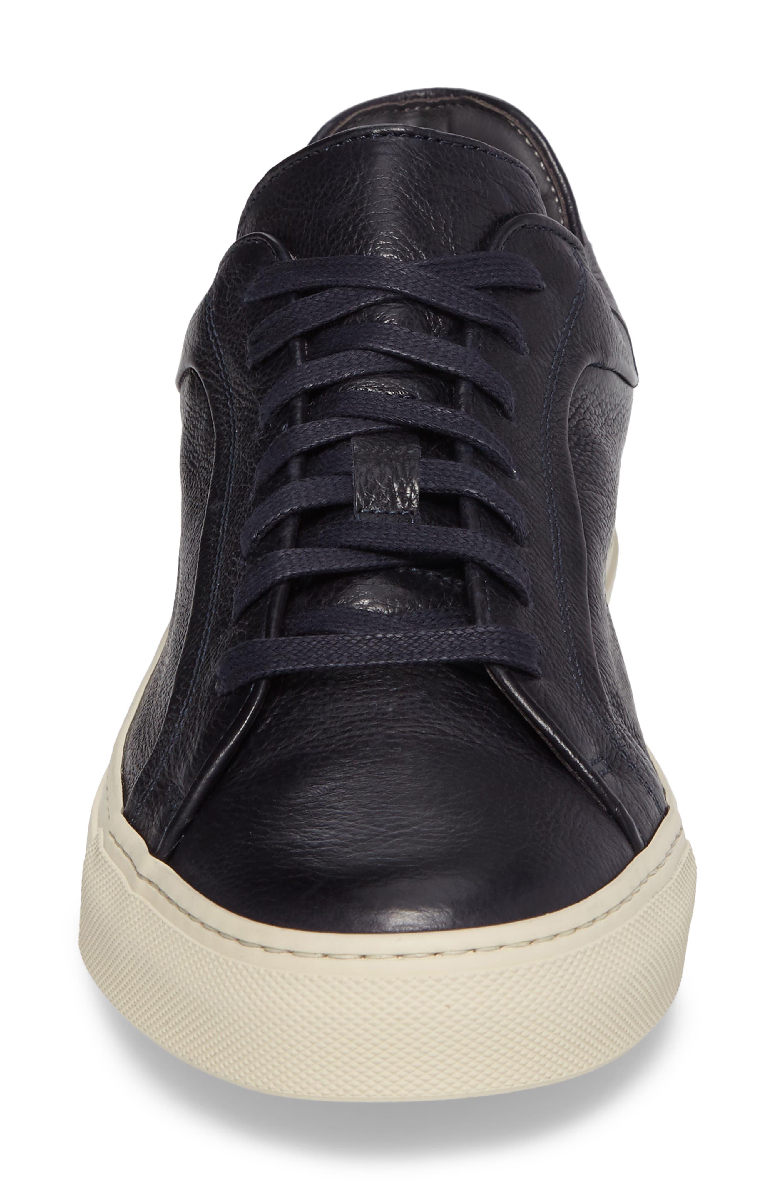 Thomas Sneaker,                             Alternate thumbnail 4, color,                             BLUE MARINE