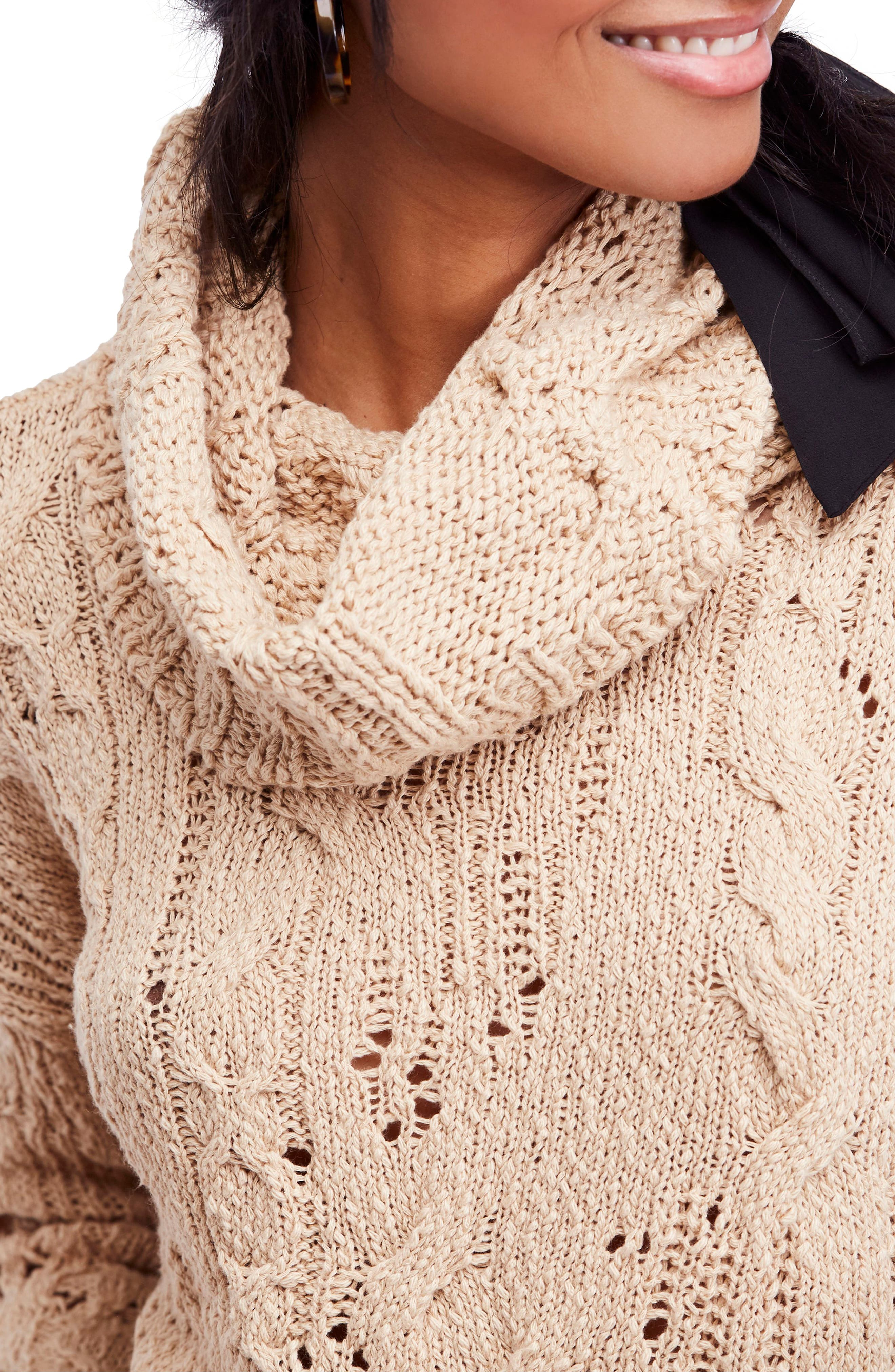 Shades of Dawn Crop Sweater,                             Alternate thumbnail 4, color,                             250