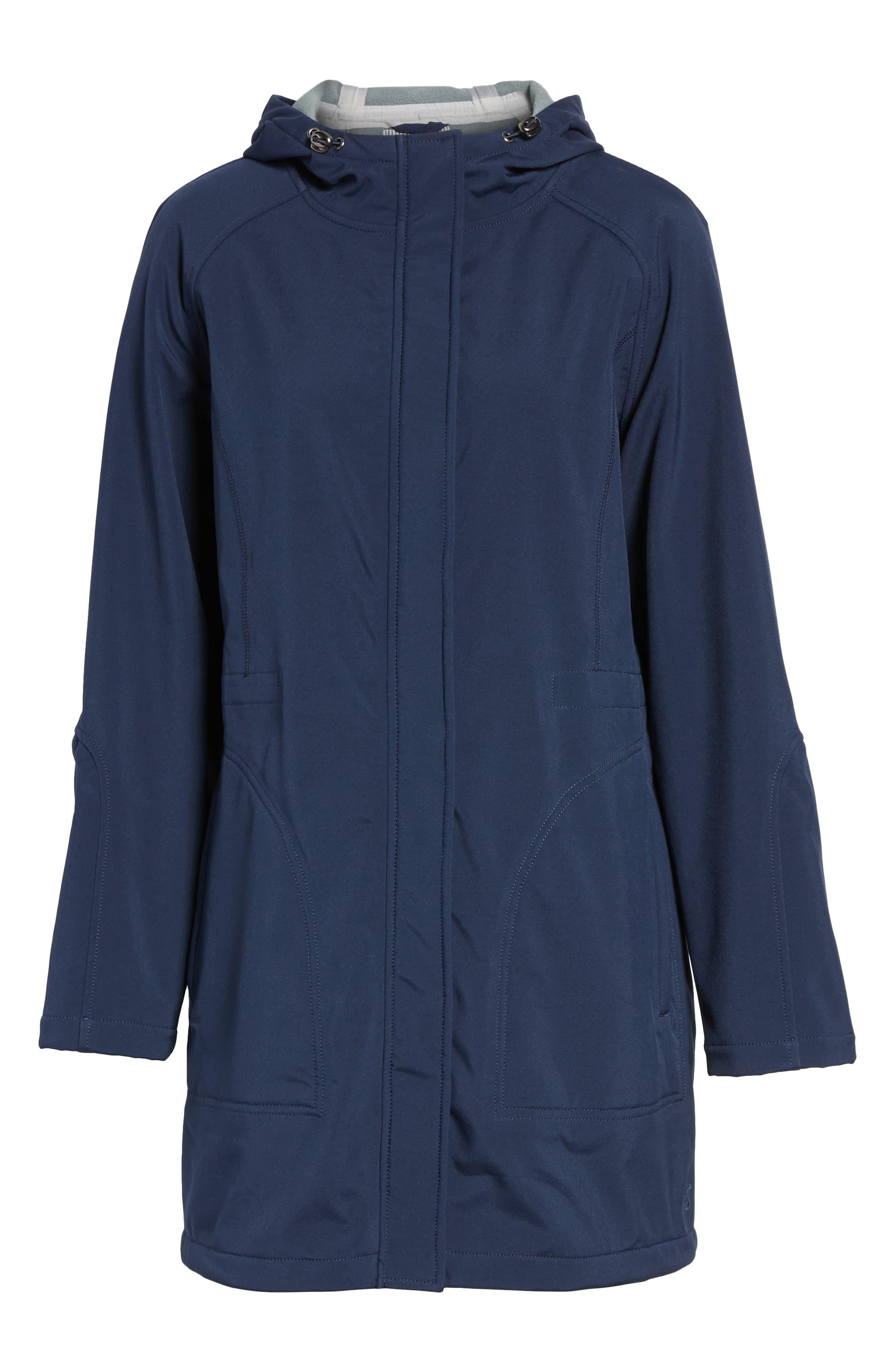 Right as Rain Fleece Lined Raincoat,                             Alternate thumbnail 14, color,