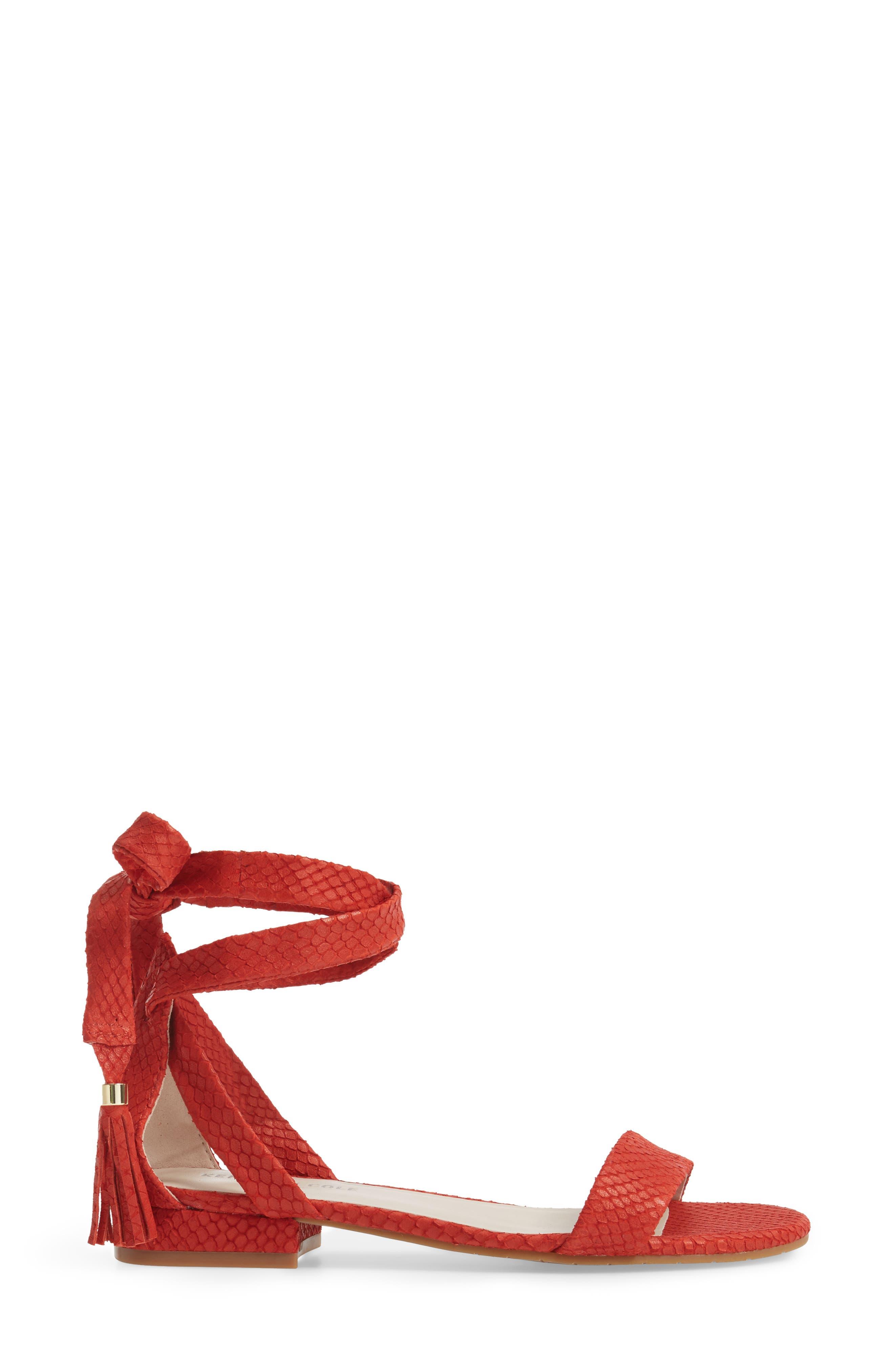 Valen Tassel Lace-Up Sandal,                             Alternate thumbnail 38, color,