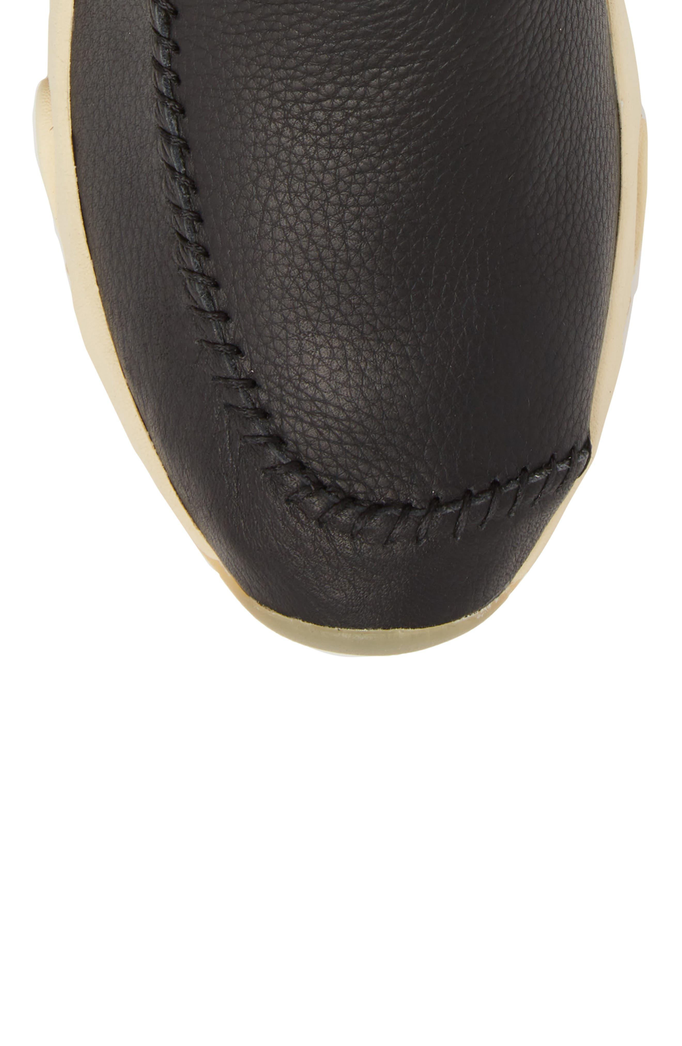 Castas Asymmetrical Chukka Sneaker,                             Alternate thumbnail 5, color,                             001