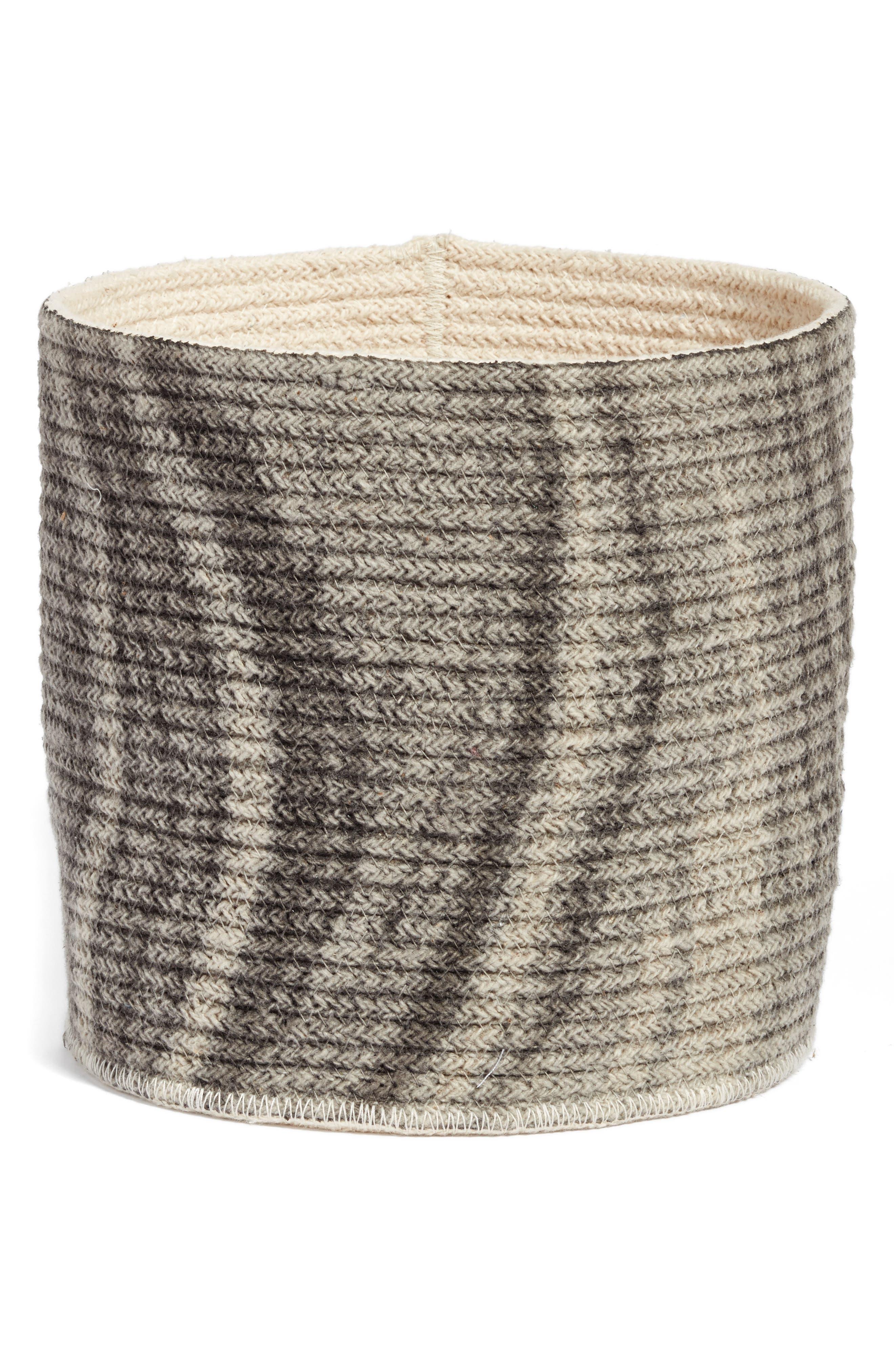 Oceana Woven Basket,                             Main thumbnail 1, color,                             020