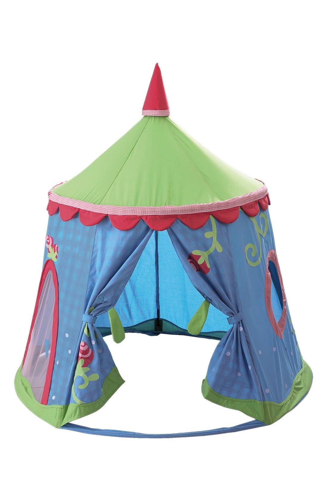 HABA 'Caro-Lini' Play Tent, Main, color, BLUE