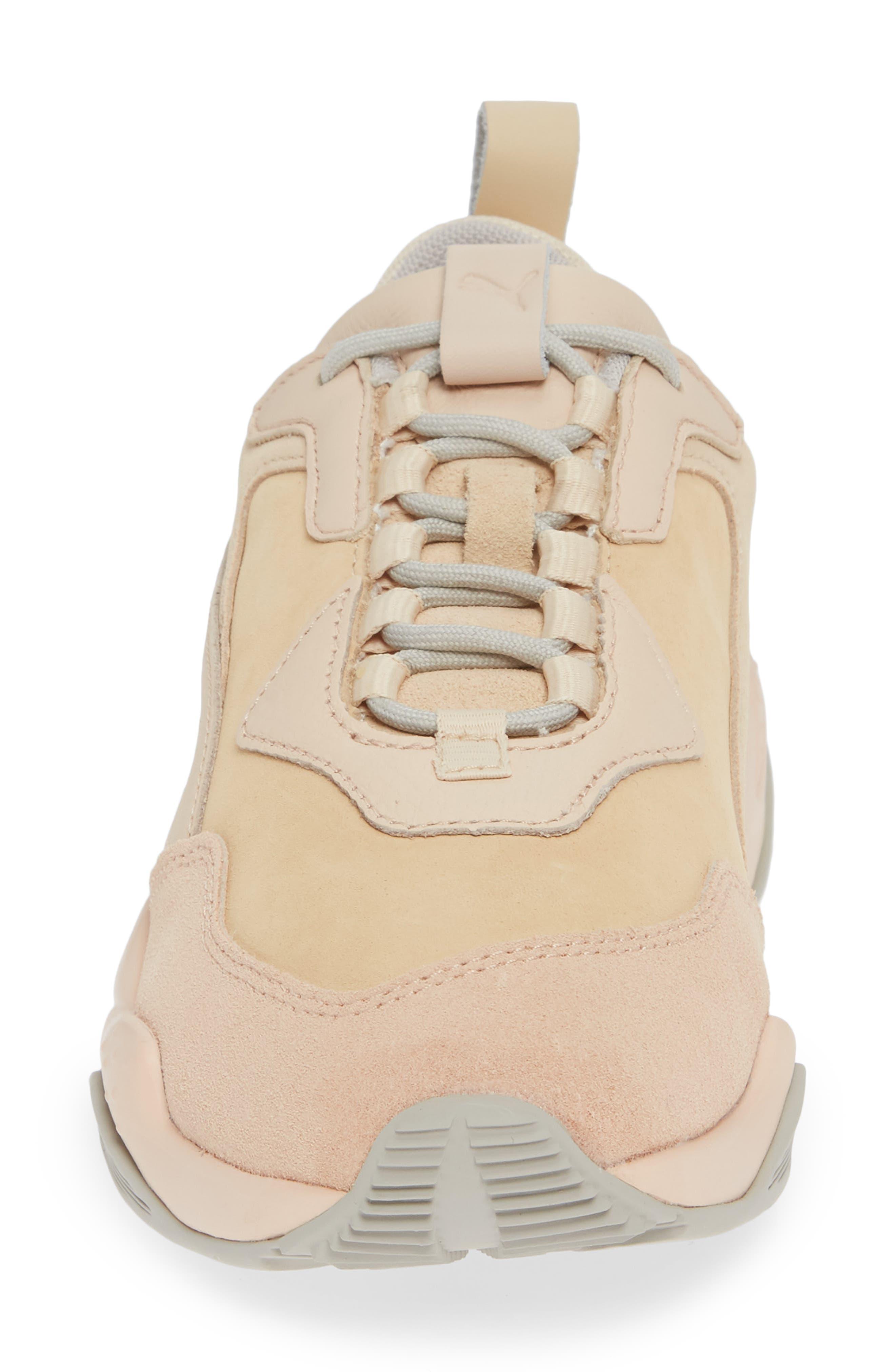 Thunder Desert Sneaker,                             Alternate thumbnail 4, color,                             NATURAL VACHETTA/ CREAM TAN