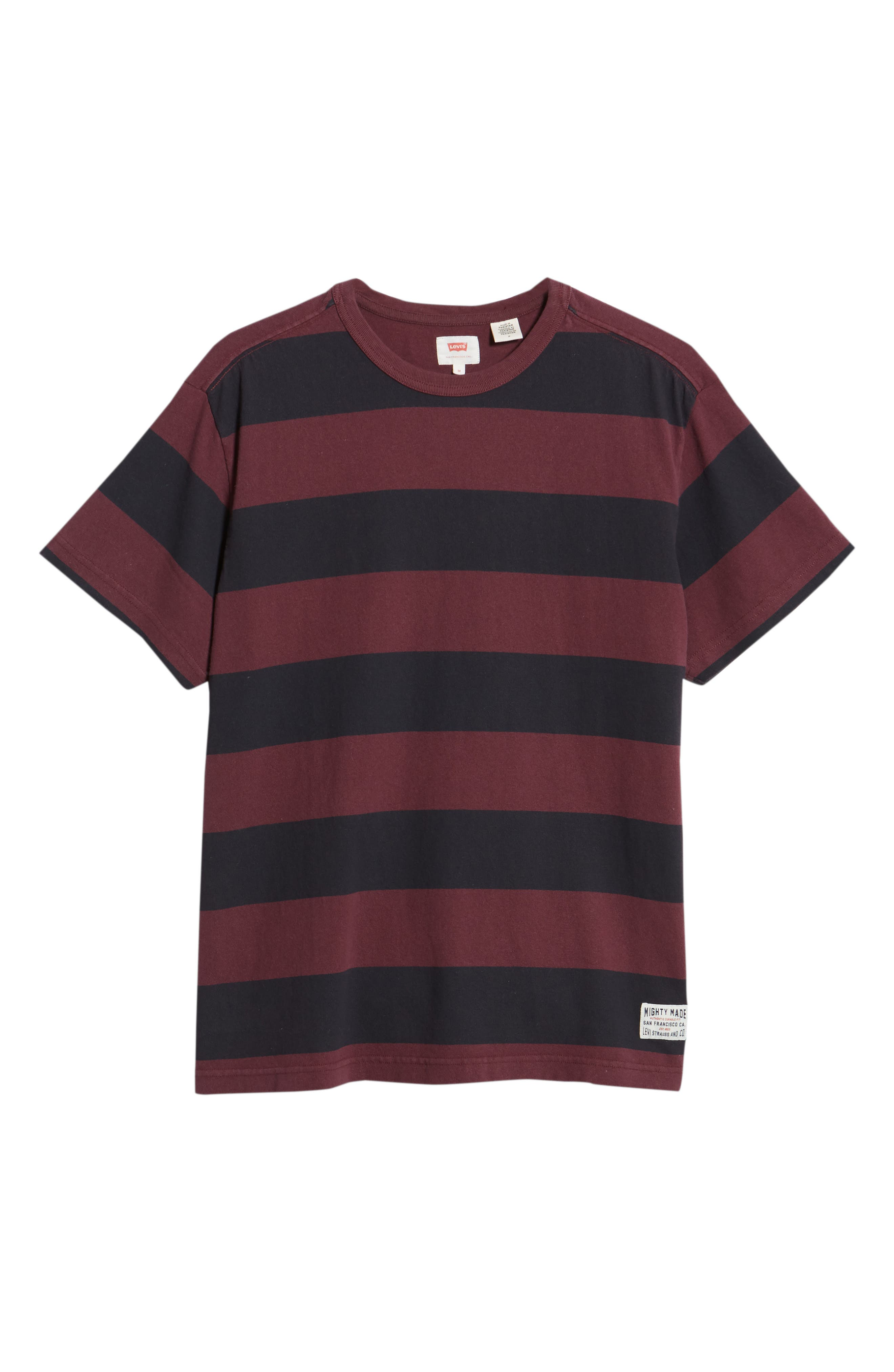 Stripe T-Shirt,                             Alternate thumbnail 6, color,                             500