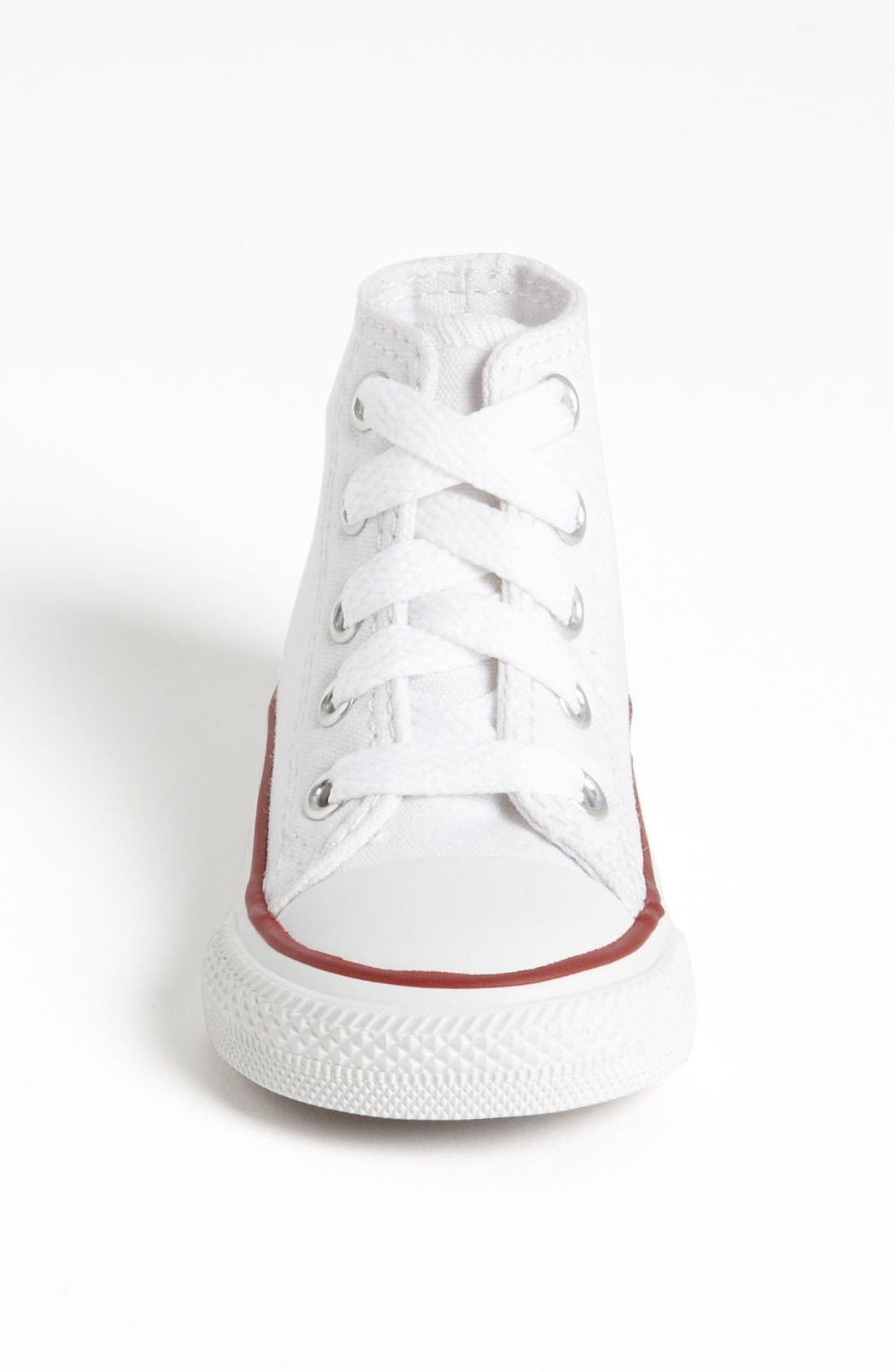 All Star<sup>®</sup> High Top Sneaker,                             Alternate thumbnail 6, color,                             OPTIC WHITE
