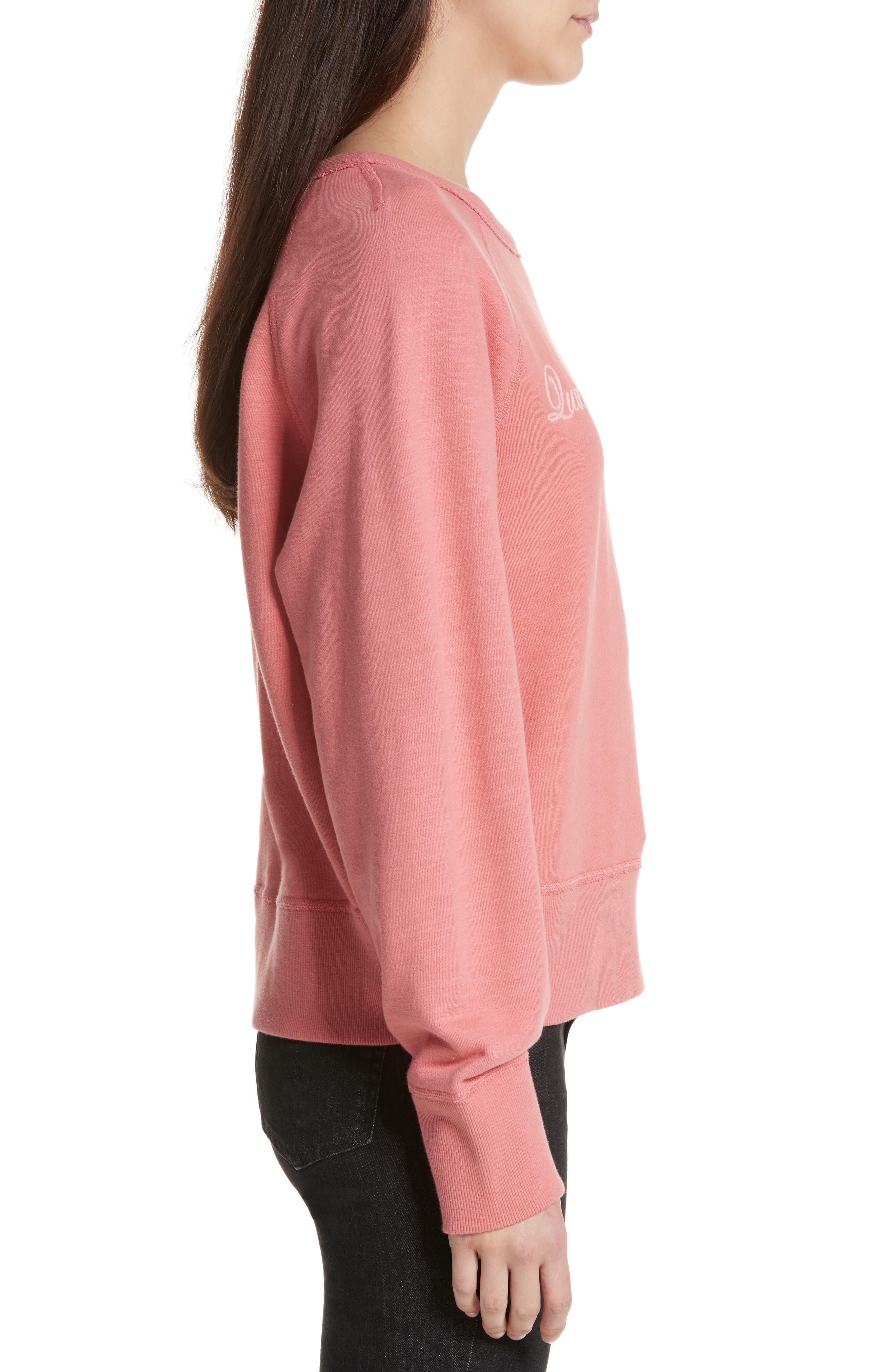 The Raglan Sweatshirt,                             Alternate thumbnail 3, color,