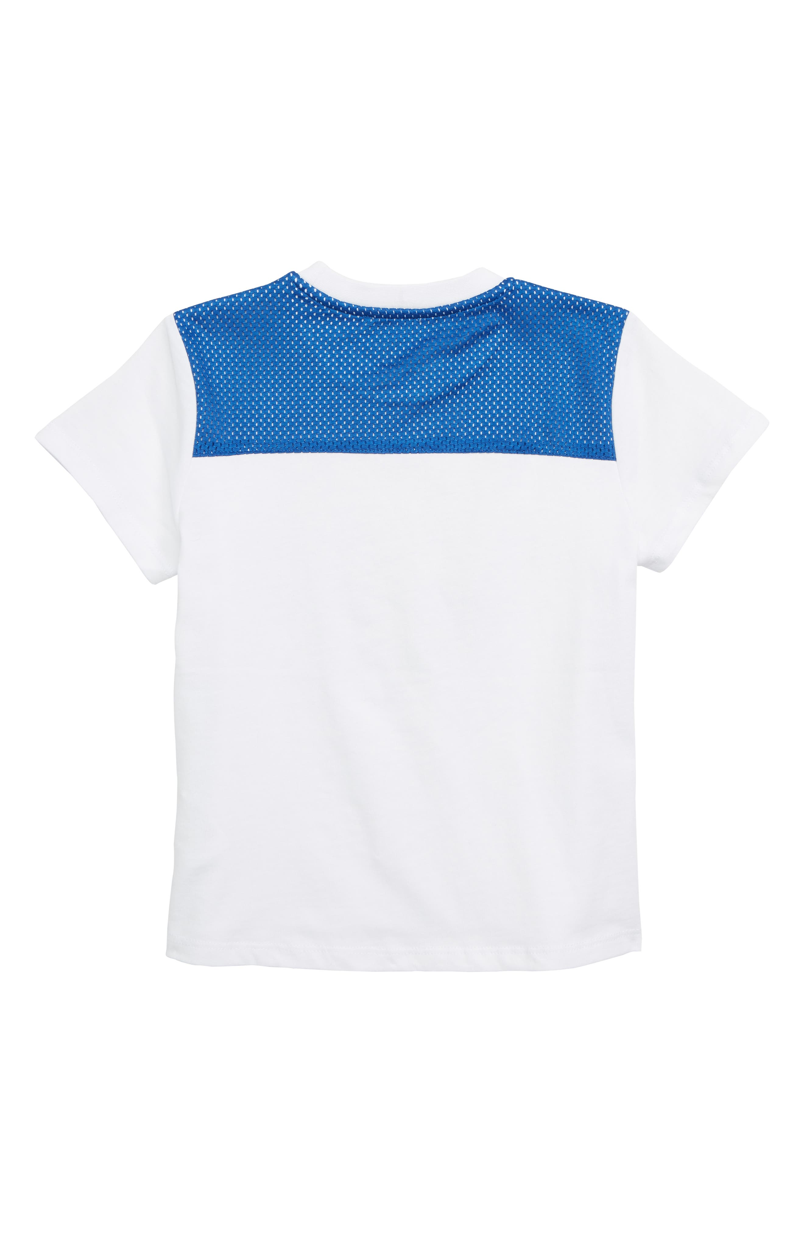 Embroidered Tiger T-Shirt,                             Alternate thumbnail 2, color,                             WHITE