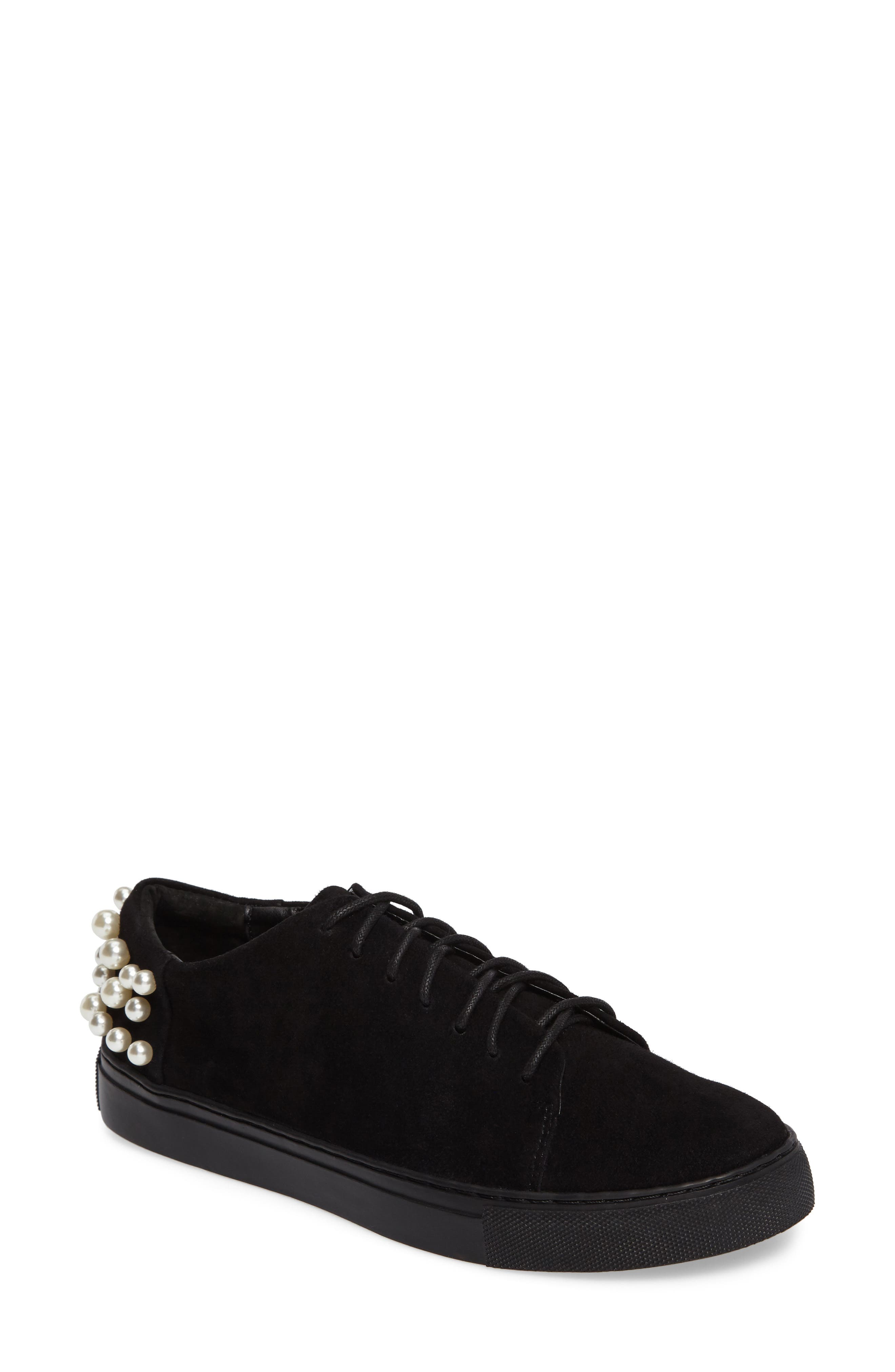 Haig Embellished Sneaker,                             Main thumbnail 1, color,                             001