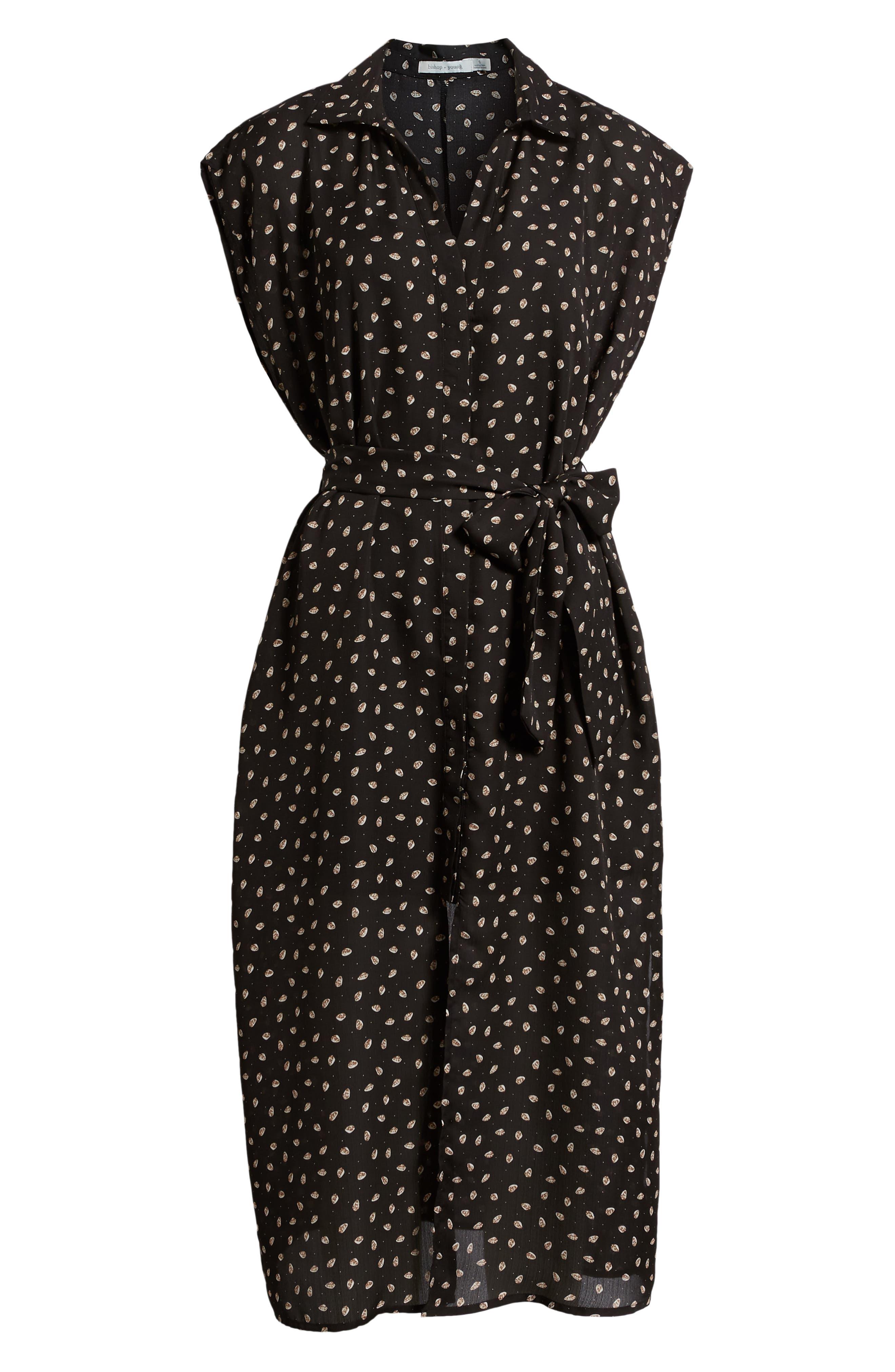 Bishop + Young Soho Midi Dress,                             Alternate thumbnail 7, color,                             PRINT