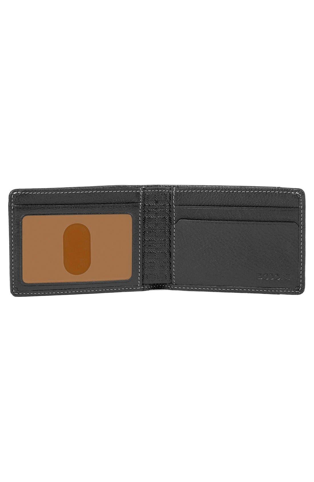 'Tyler' RFID Slimster Wallet,                             Alternate thumbnail 2, color,                             BLACK