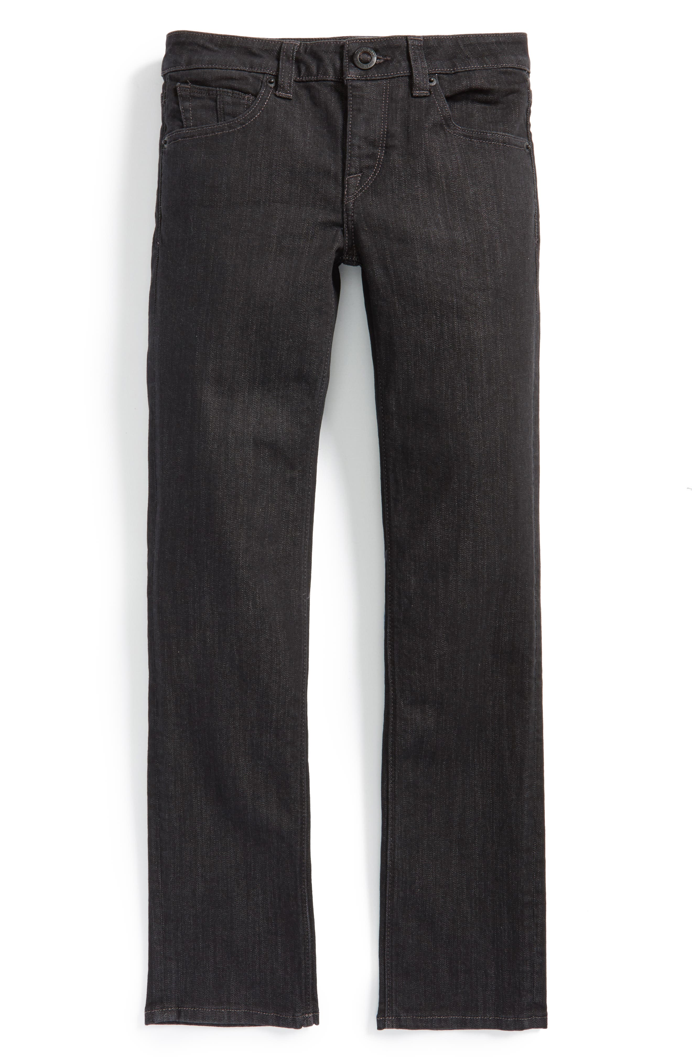 Vorta Slim Fit Jeans,                             Alternate thumbnail 4, color,                             005