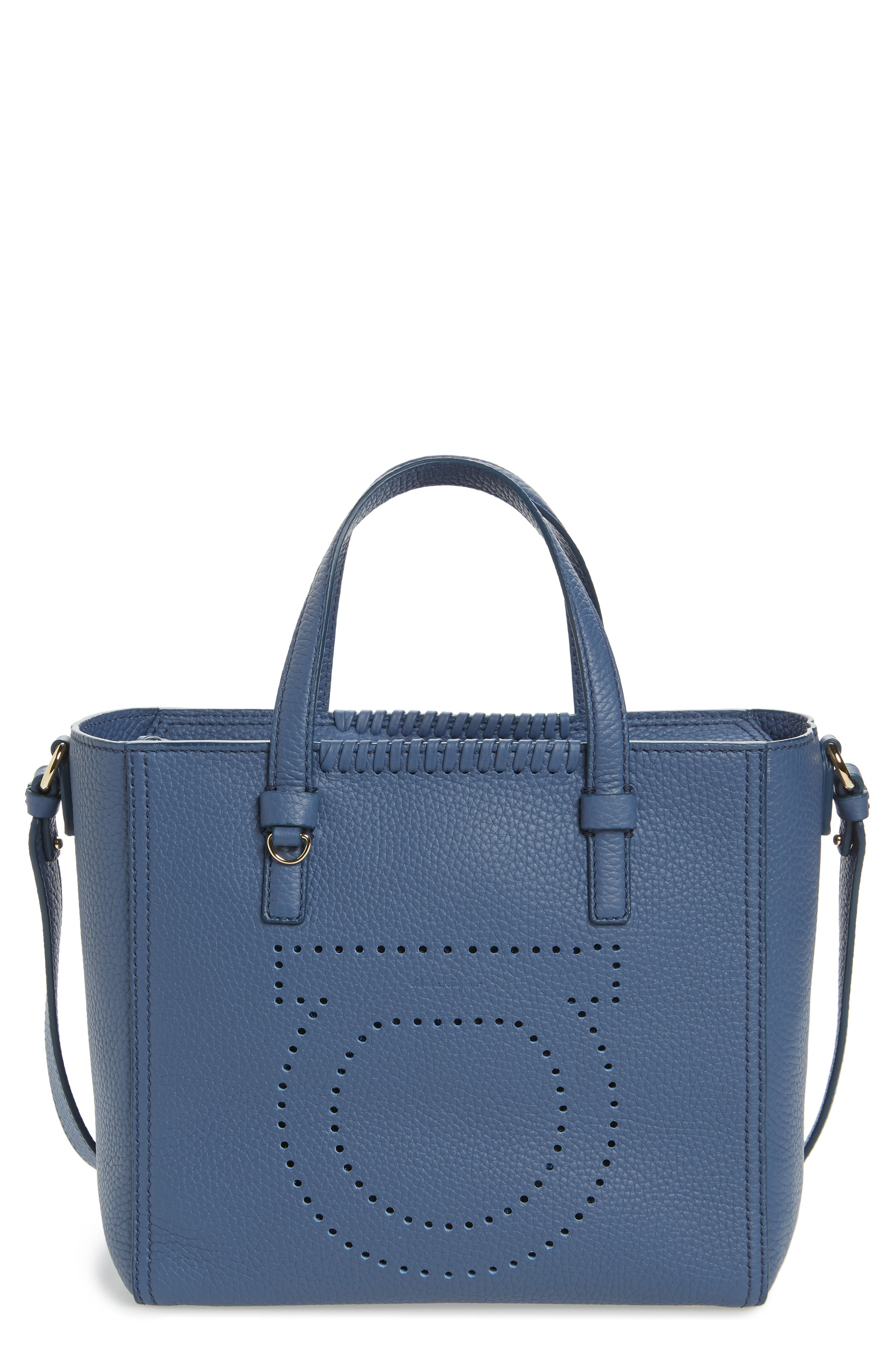 Small Pebbled Leather Tote,                             Main thumbnail 1, color,                             463