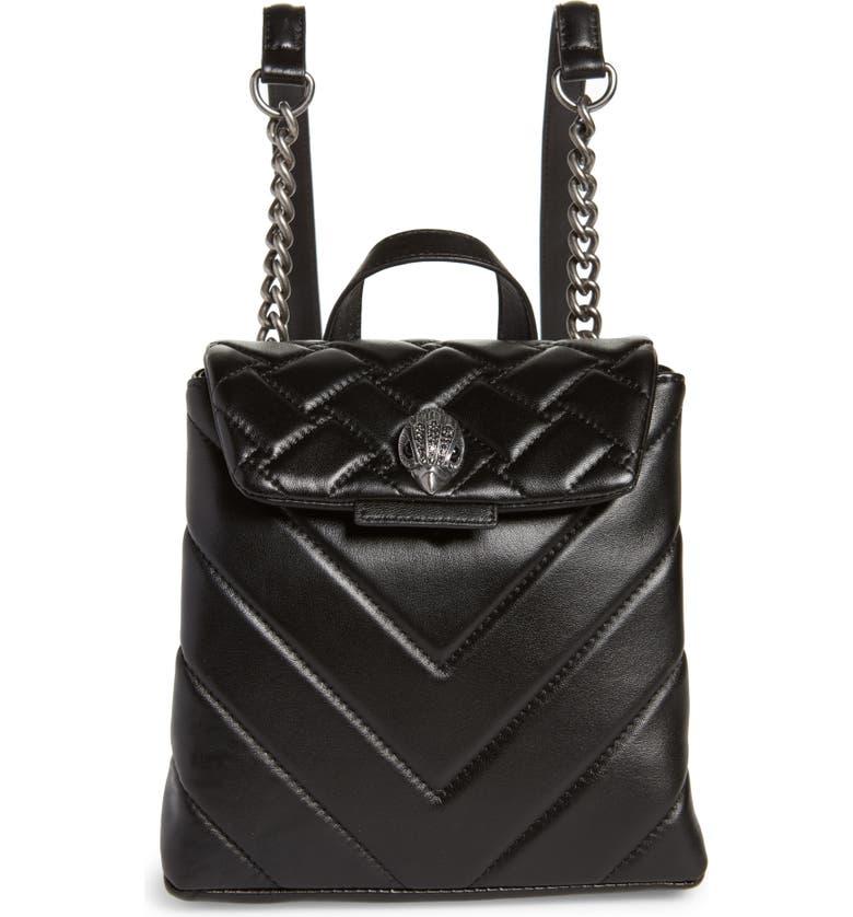 9638628373af Kurt Geiger London Small Kensington Leather Backpack