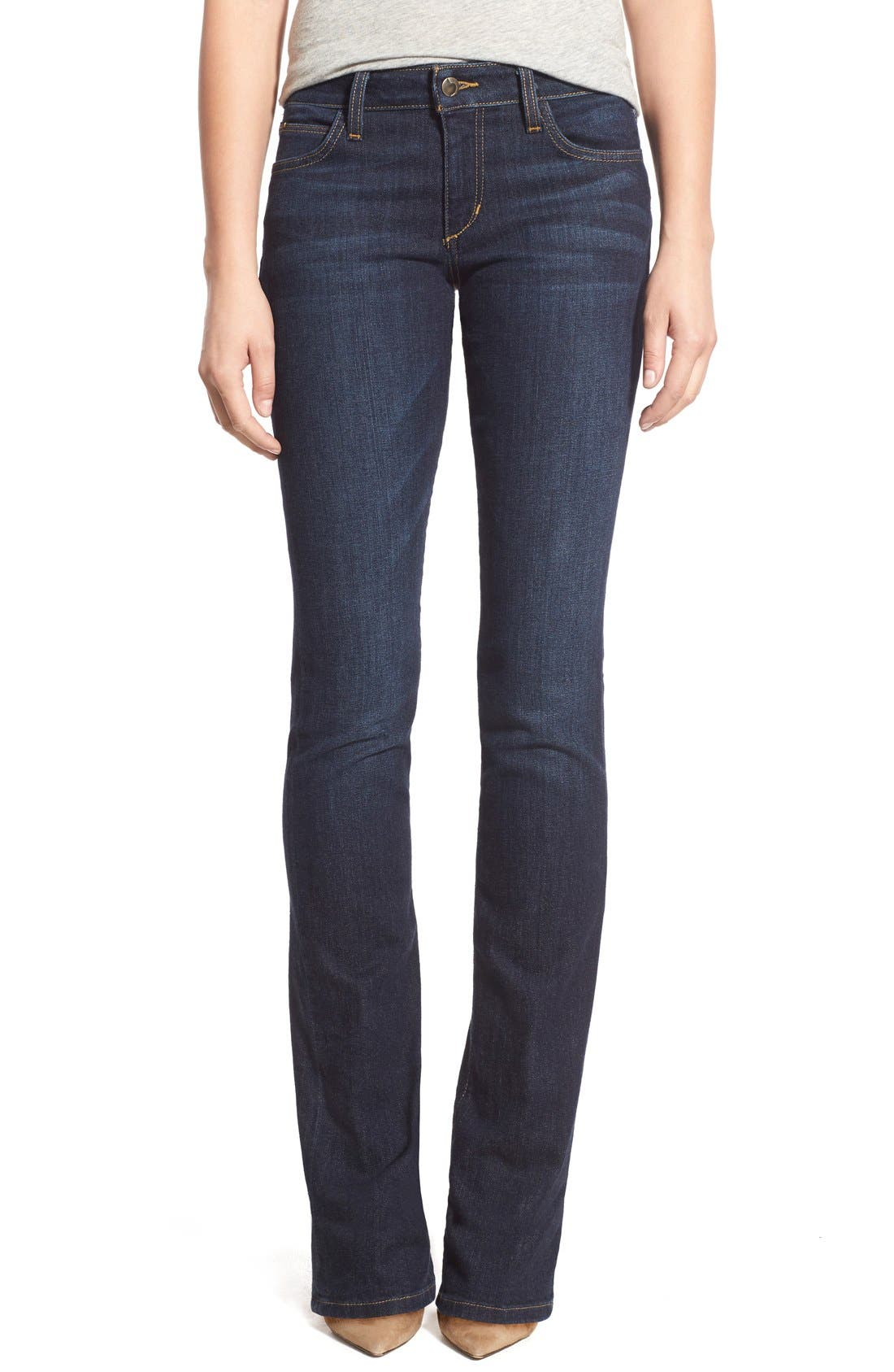 Honey Curvy Bootcut Jeans,                             Main thumbnail 1, color,                             RIKKI