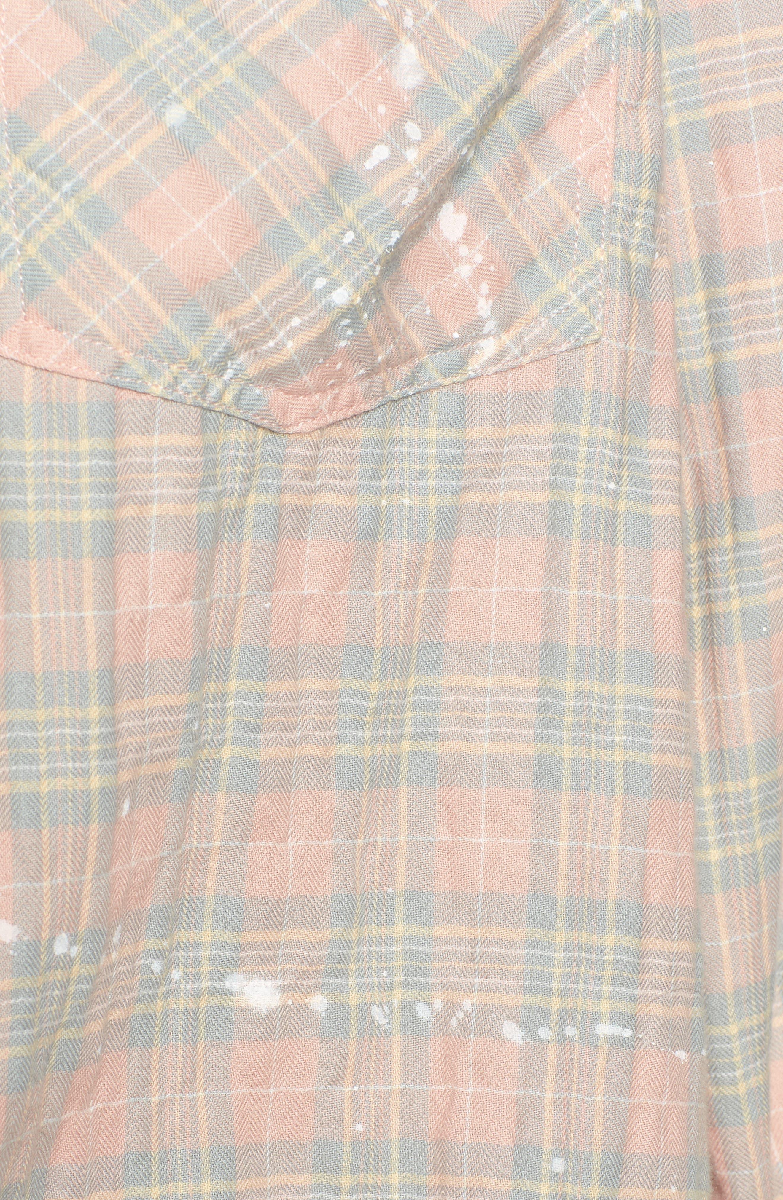 The Ivie Plaid Shirt,                             Alternate thumbnail 5, color,                             674