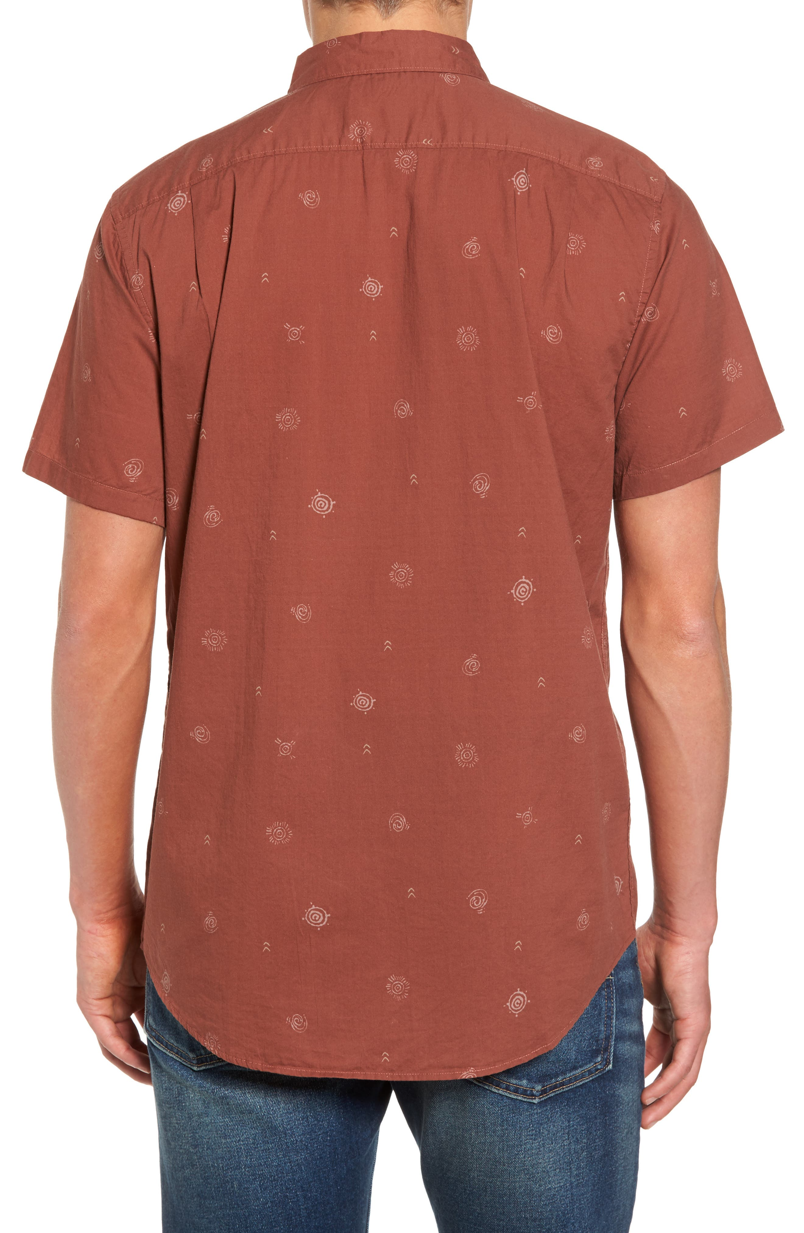 Sunday Woven Shirt,                             Alternate thumbnail 7, color,