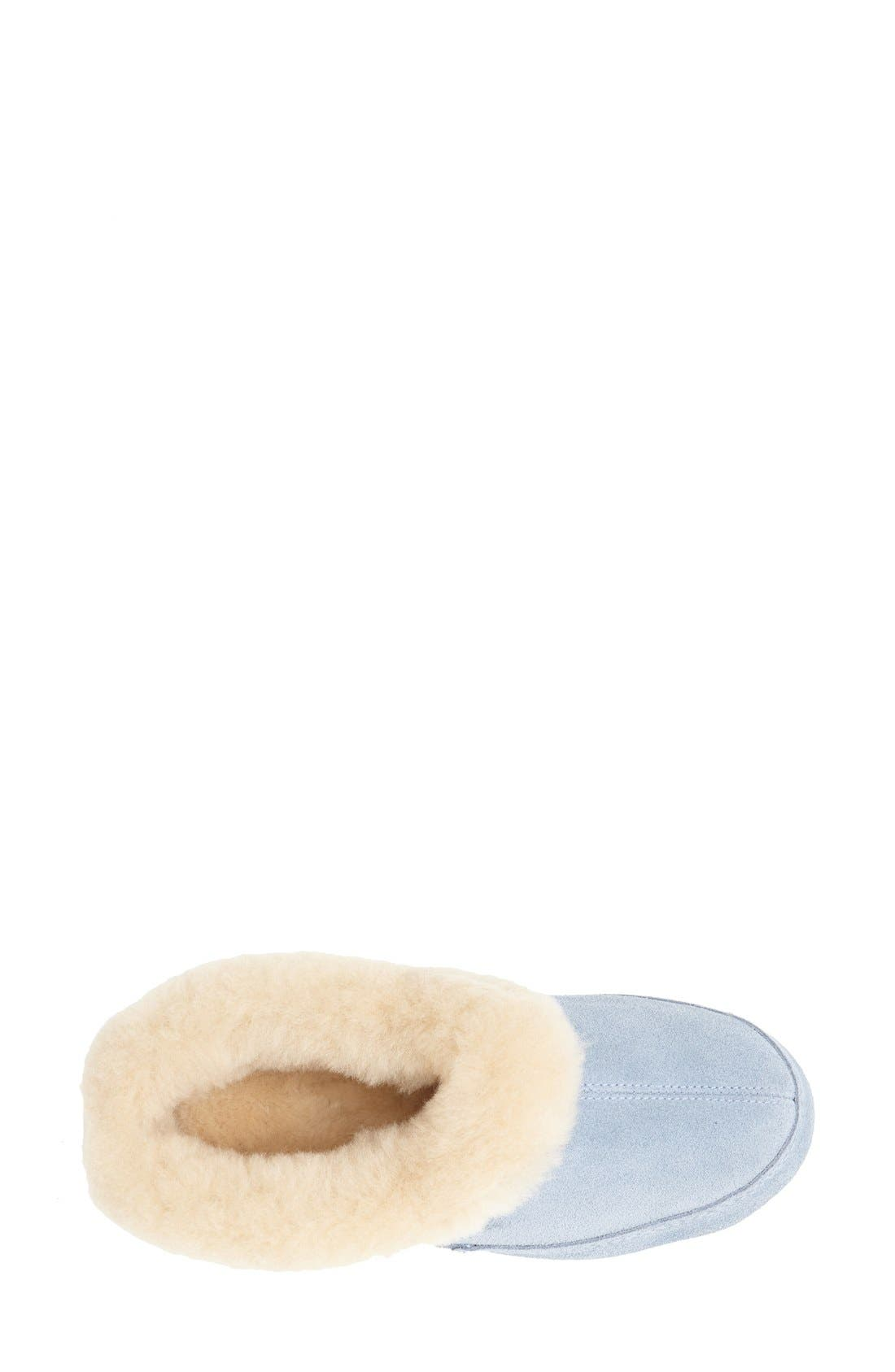 'Oh Ewe II' Genuine Sheepskin Slipper,                             Alternate thumbnail 11, color,