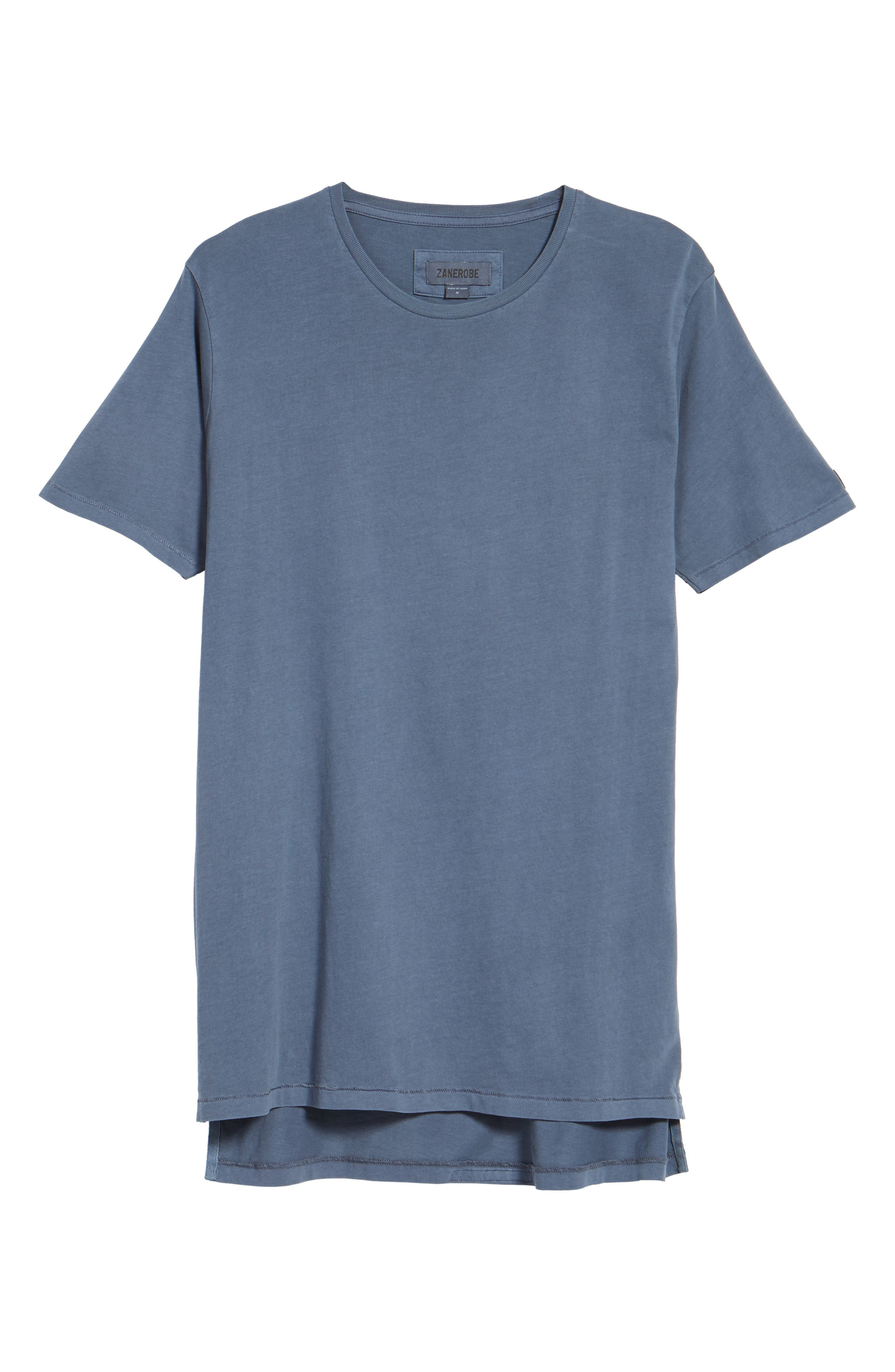 Flintlock Stripe T-Shirt,                             Alternate thumbnail 6, color,                             PIGMENT BLUE GREY