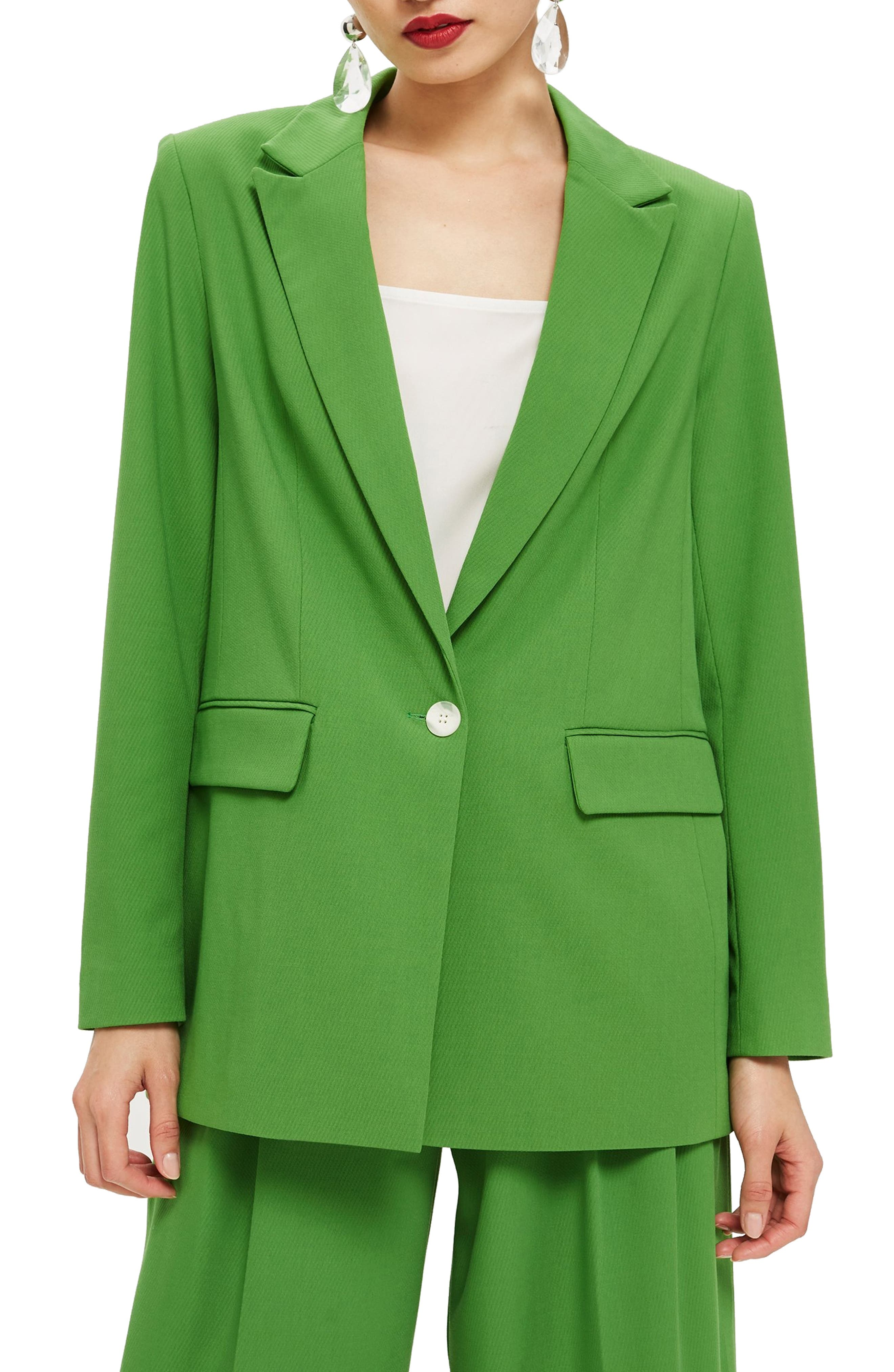 Oversize Suit Jacket,                         Main,                         color, GREEN