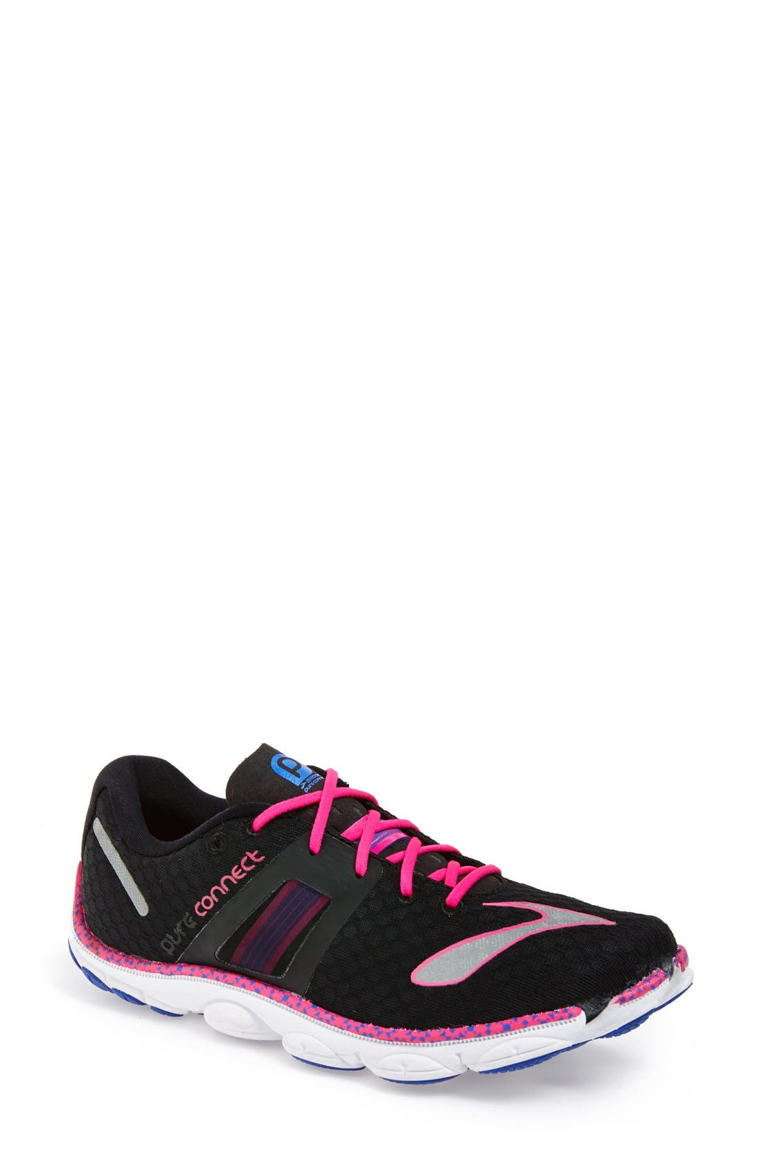 BROOKS,                             'Pure Connect 4' Running Shoe,                             Main thumbnail 1, color,                             051