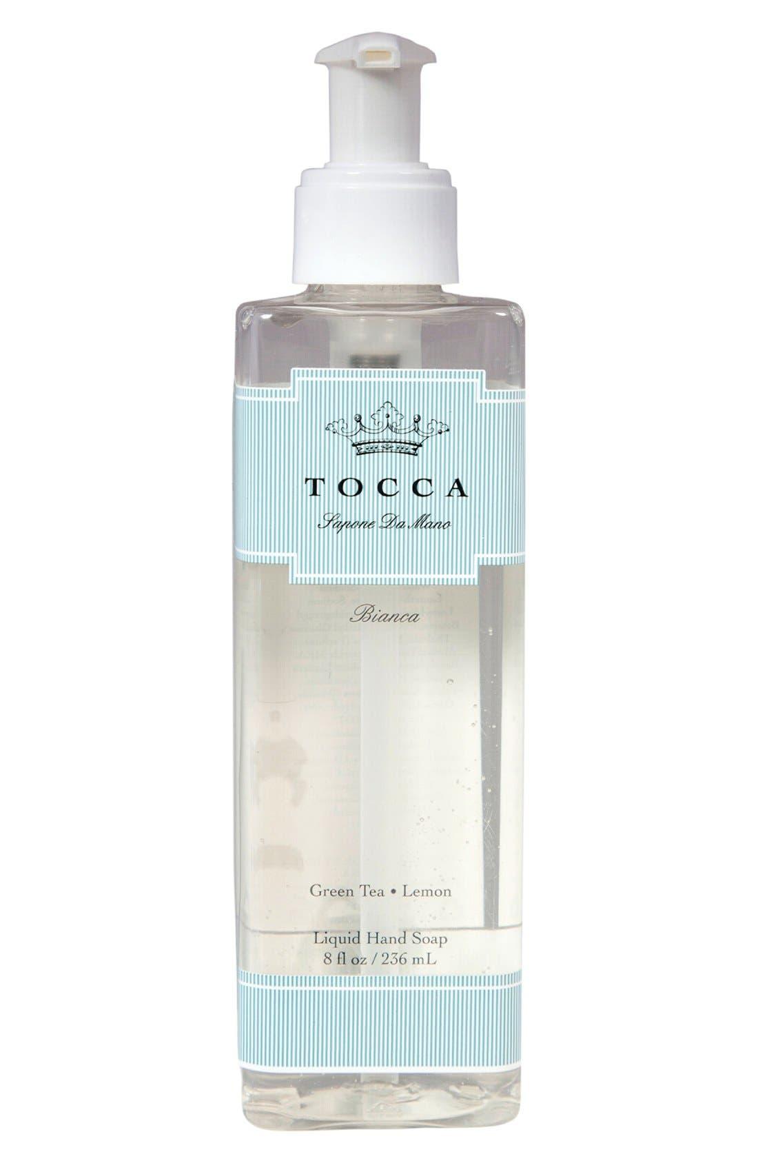 'Bianca' Liquid Hand Soap,                             Main thumbnail 1, color,                             000