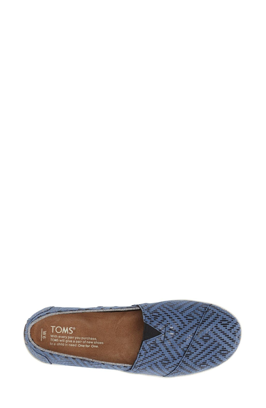 TOMS,                             'Avalon' Leather Slip-On,                             Alternate thumbnail 2, color,                             420
