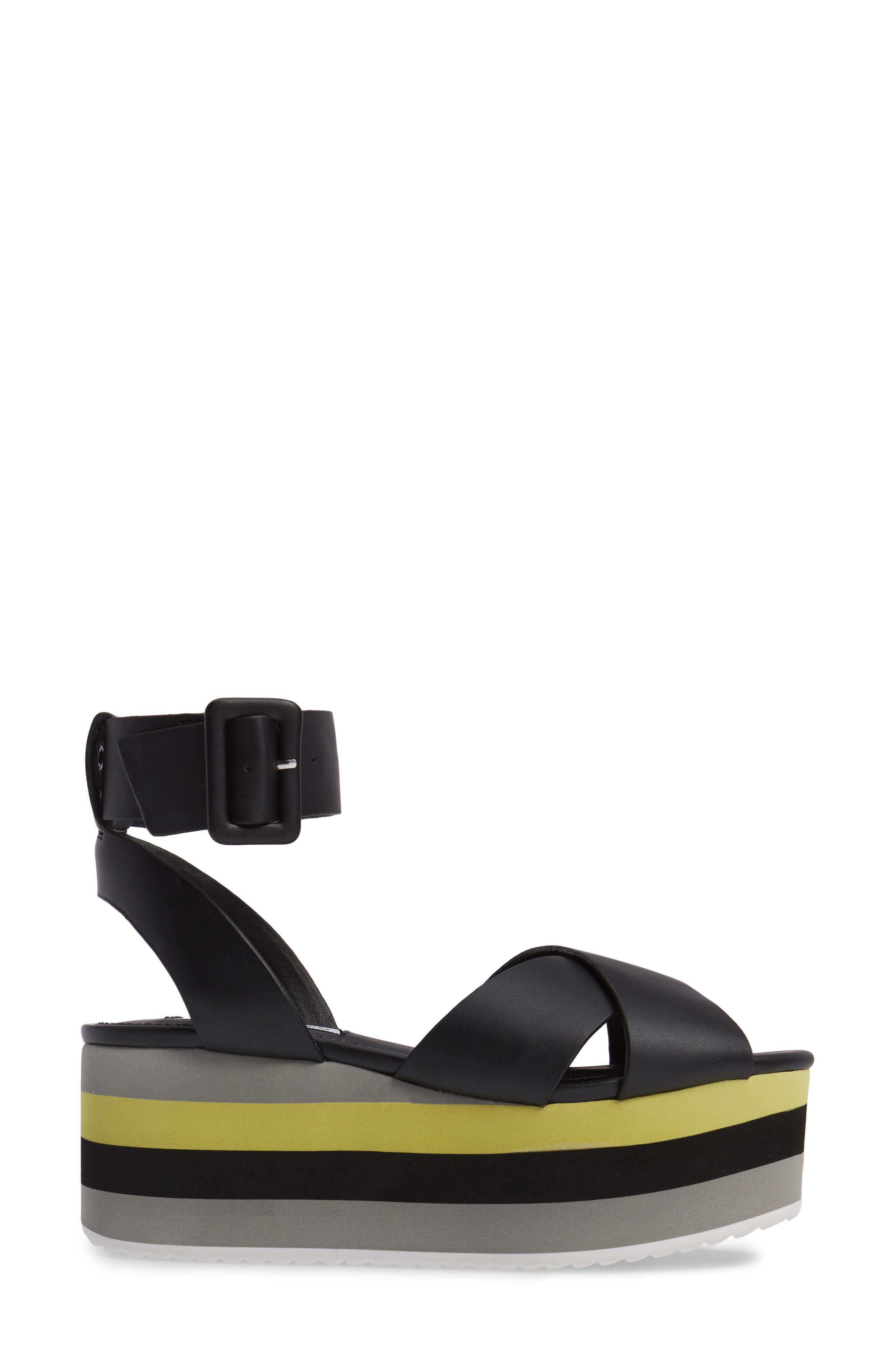 Macer Cuffed Platform Sandal,                             Alternate thumbnail 3, color,                             015