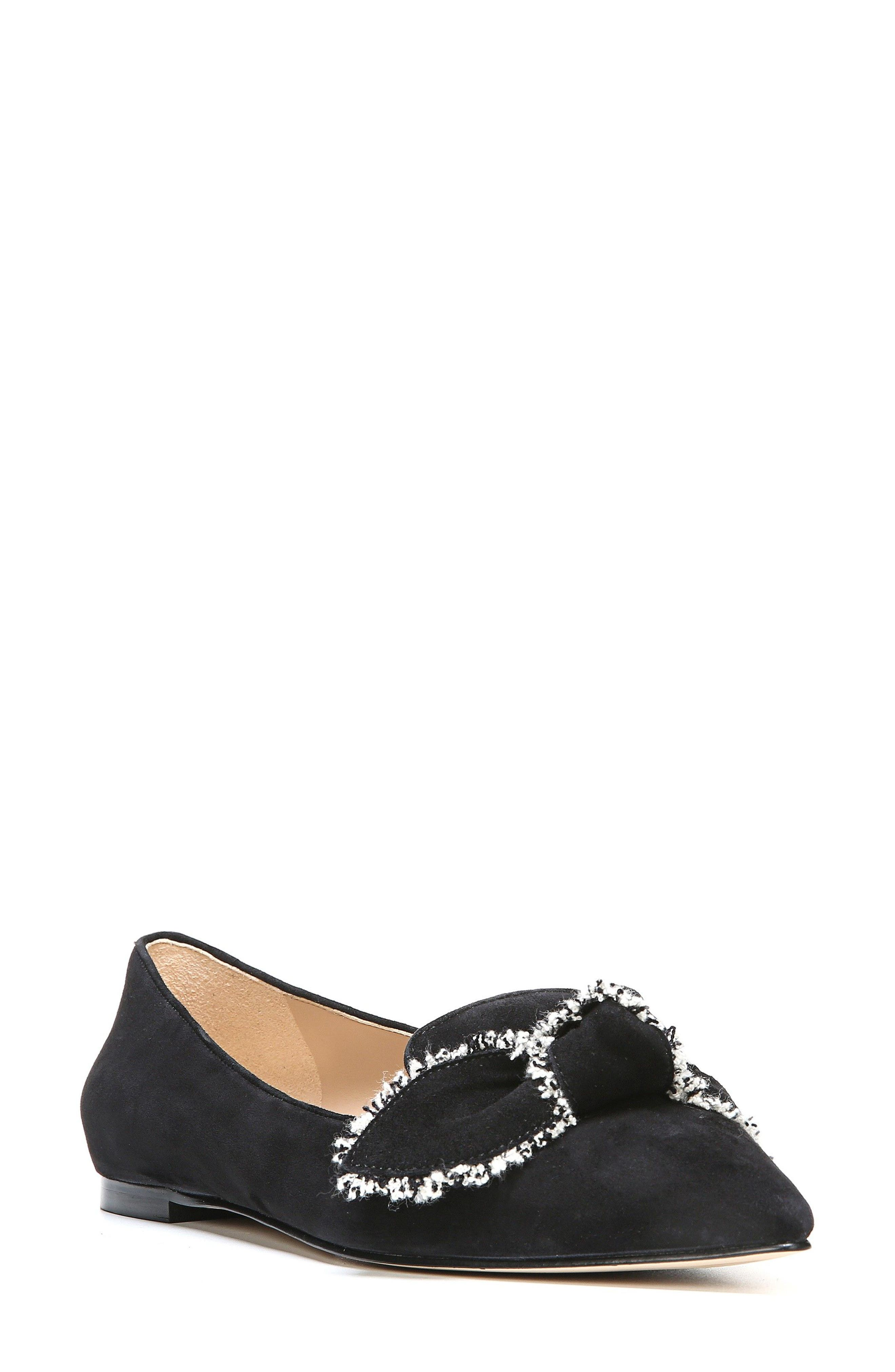Rochester Bow Pointy Toe Flat,                             Main thumbnail 2, color,