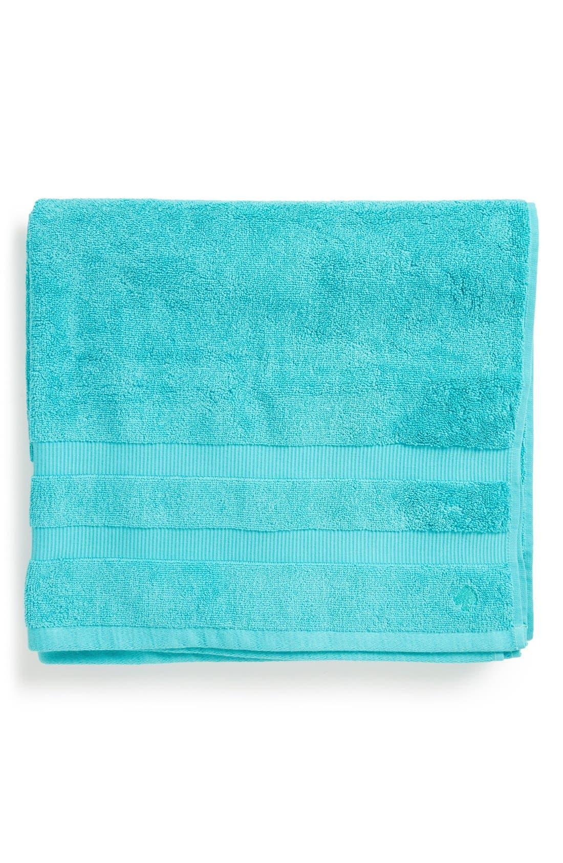 'chattam stripe' bath towel,                         Main,                         color, POOLSIDE