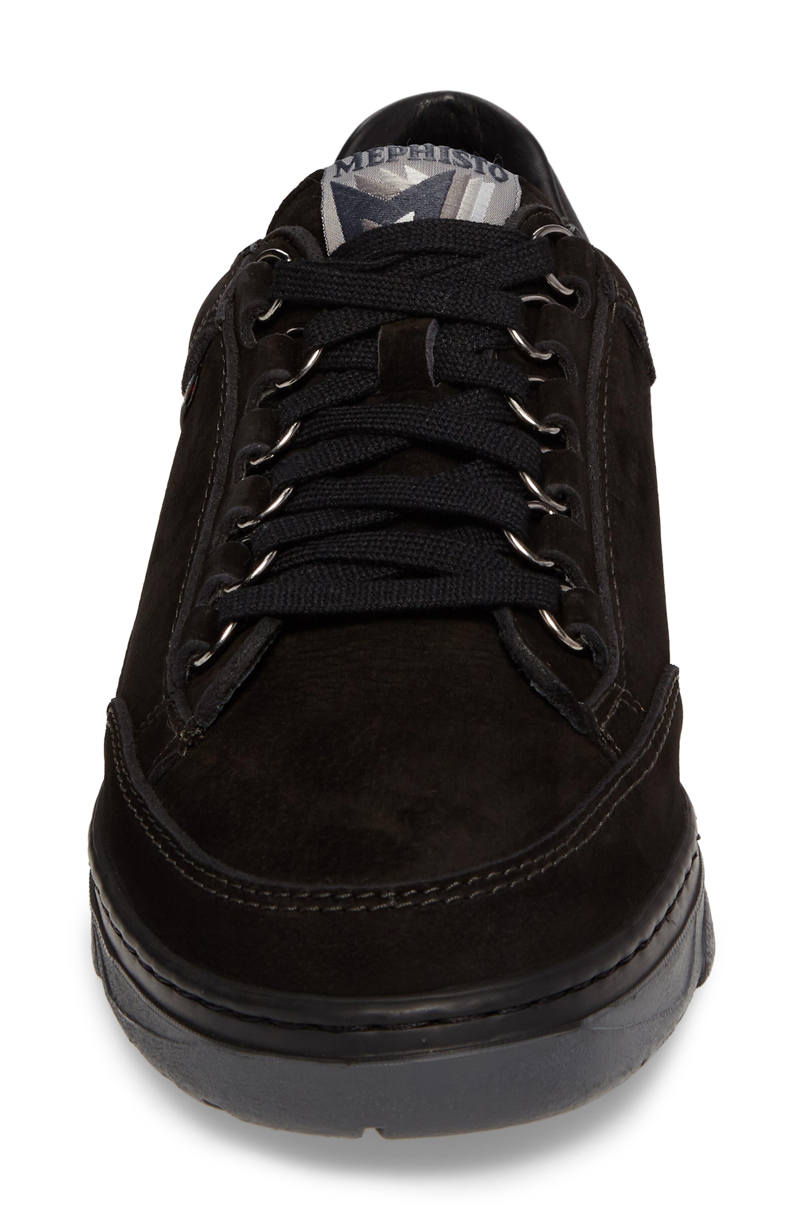 Mick Sneaker,                             Alternate thumbnail 4, color,                             BLACK SPORTBUCK