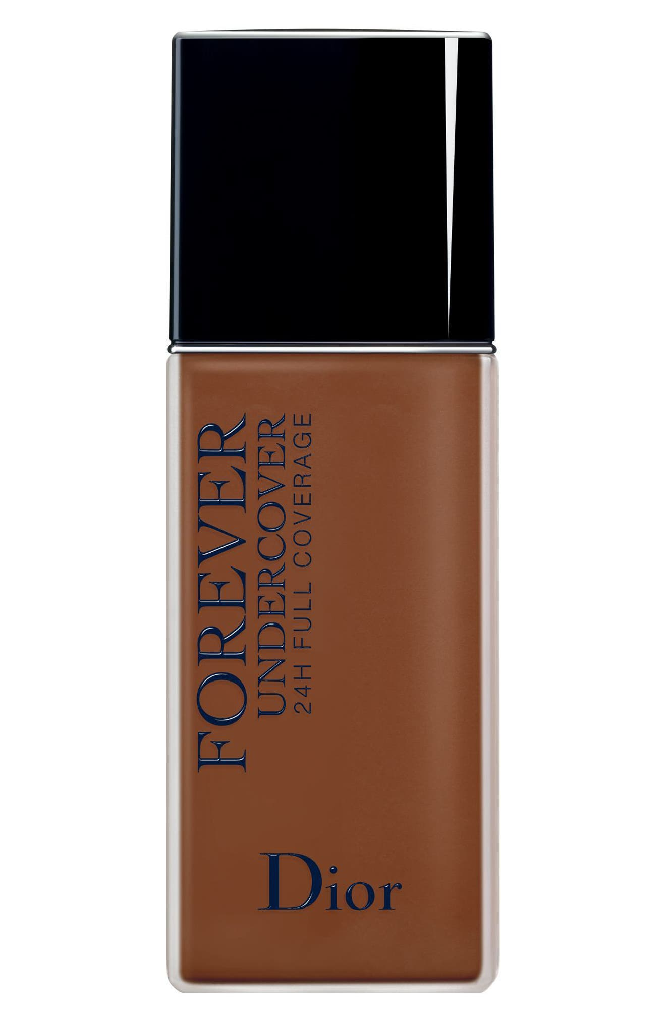 Dior Diorskin Forever Undercover 24-Hour Full Coverage Water-Based Foundation - 070 Dark Brown