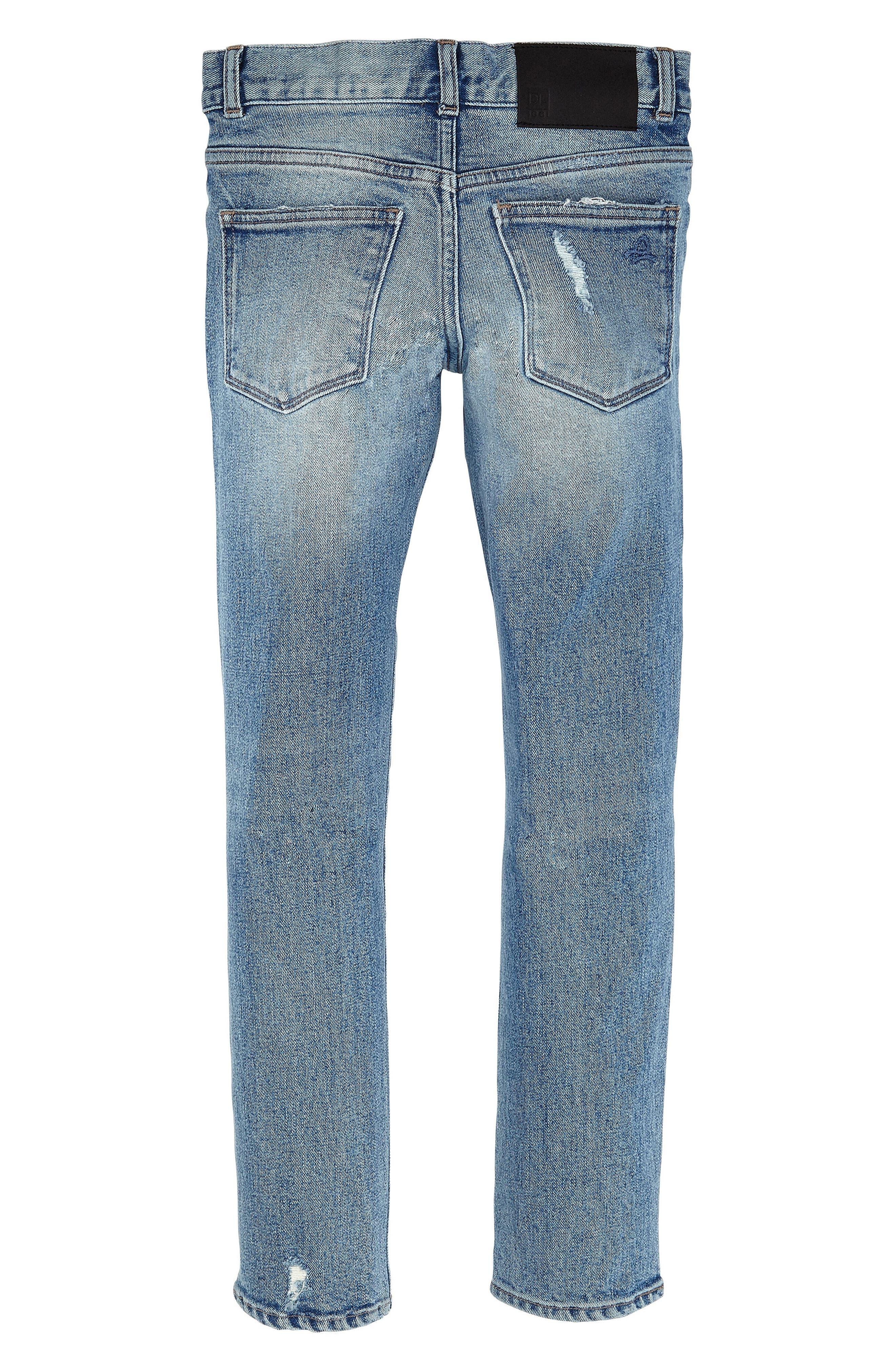 Hawke Skinny Fit Rip and Repair Jeans,                             Alternate thumbnail 2, color,                             430