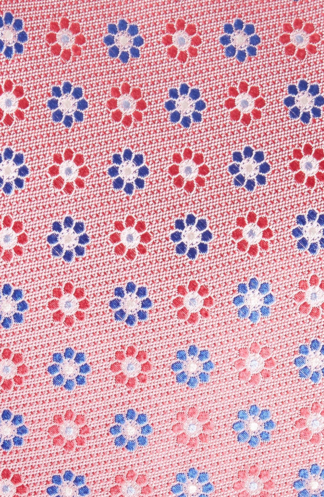 John W. Nordstrom Floral Silk Tie,                             Alternate thumbnail 10, color,