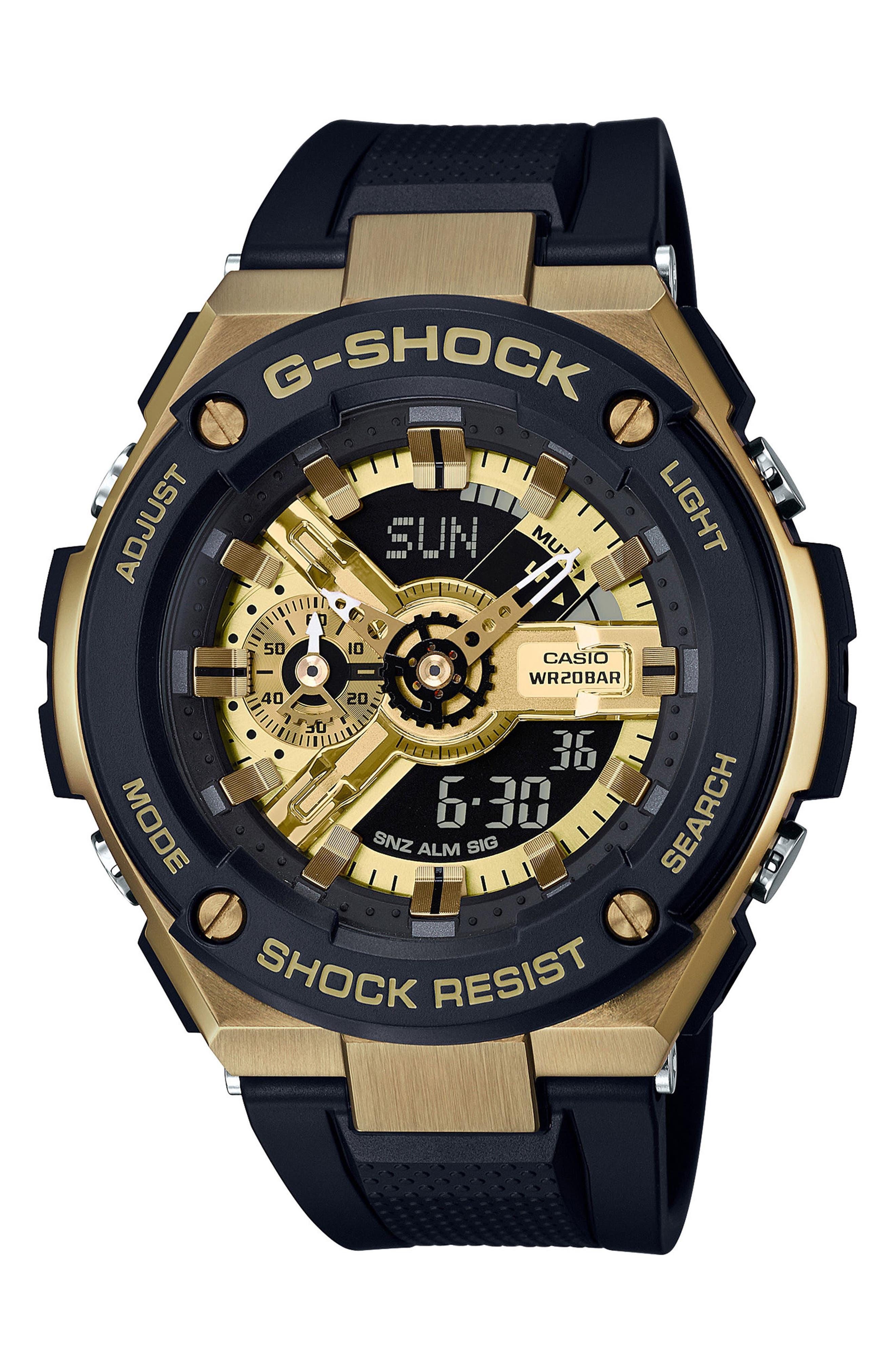 G-Shock Ana-Digi Watch, 52mm,                         Main,                         color, 001