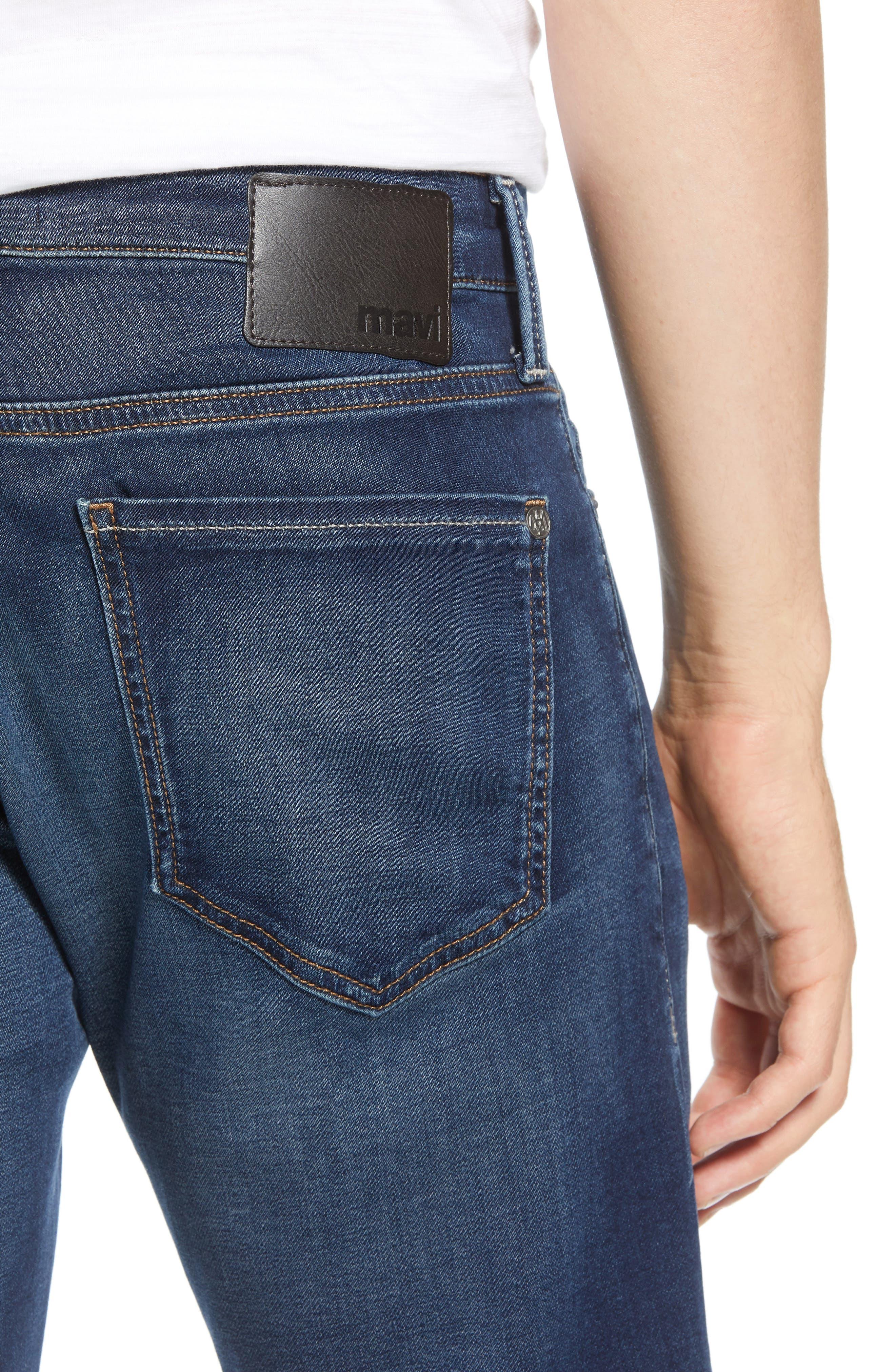 Jake Slim Fit Jeans,                             Alternate thumbnail 4, color,                             DARK SPORTY