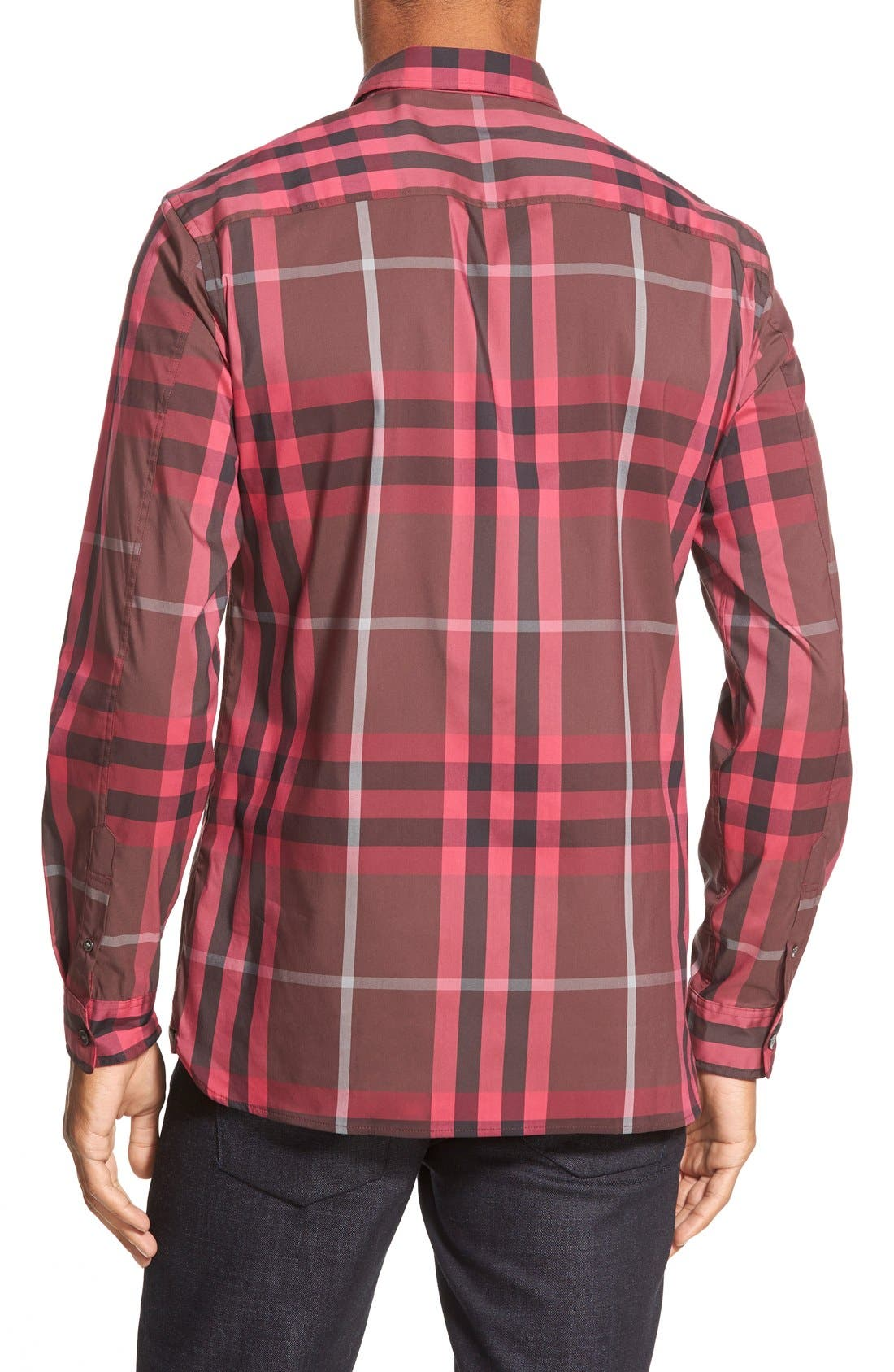 Nelson Check Sport Shirt,                             Alternate thumbnail 53, color,