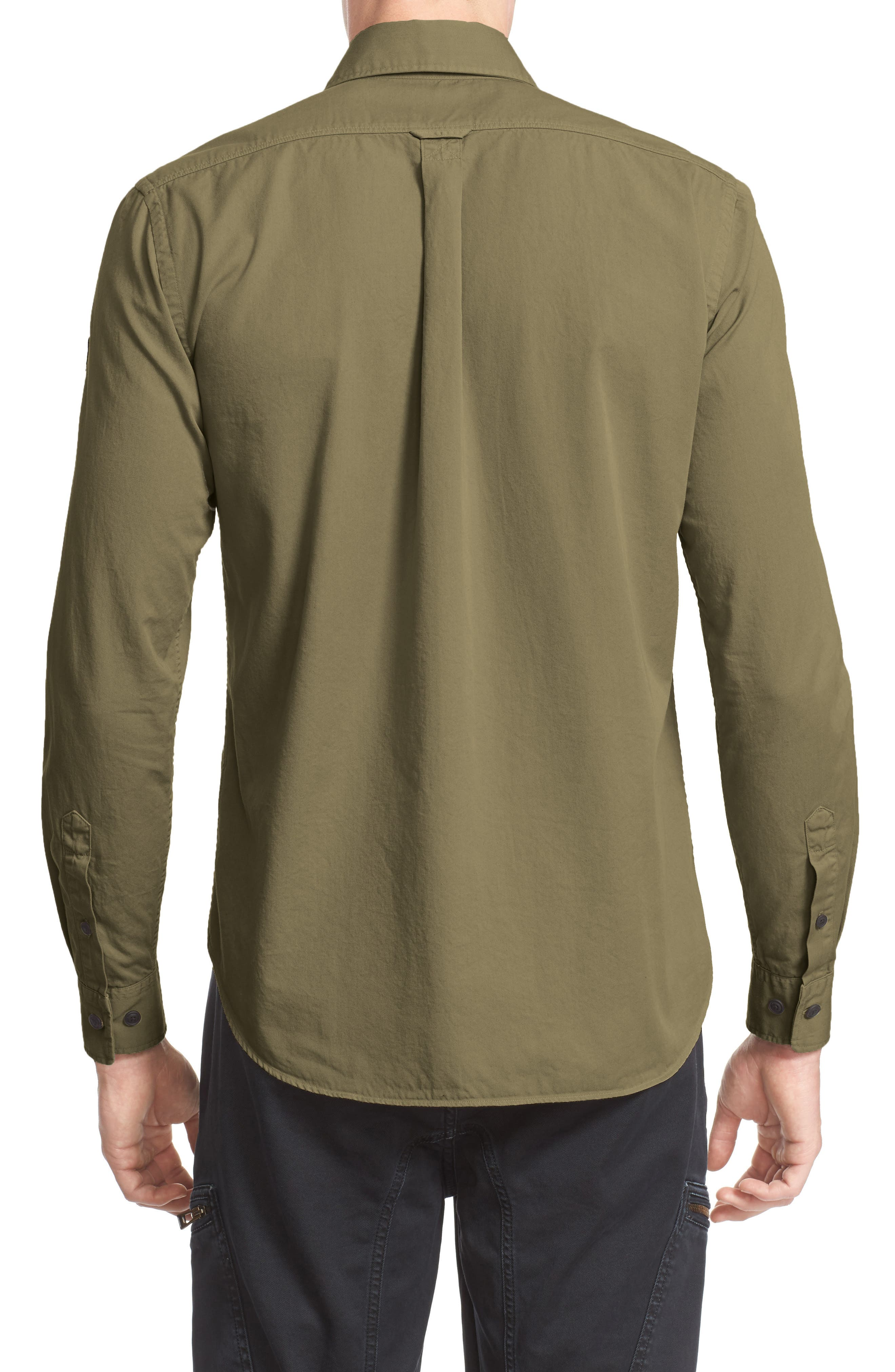 Steadway Woven Shirt,                             Alternate thumbnail 2, color,                             312