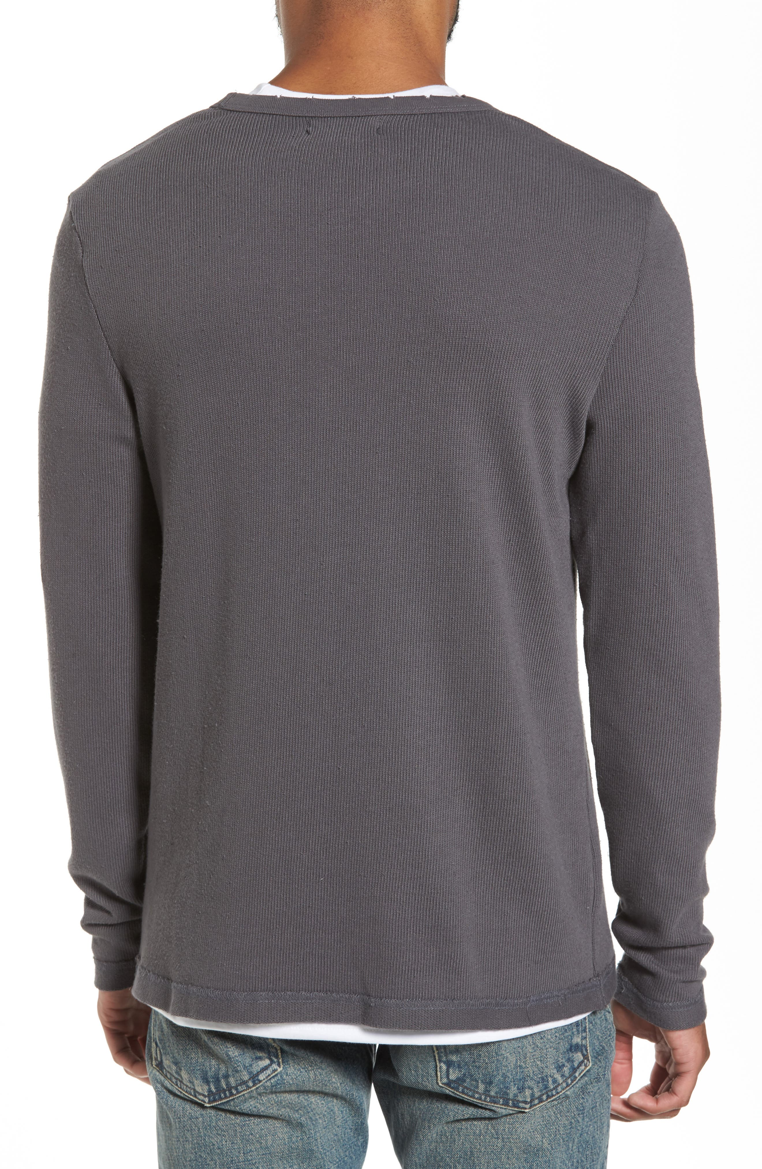 Crewneck Pullover,                             Alternate thumbnail 4, color,