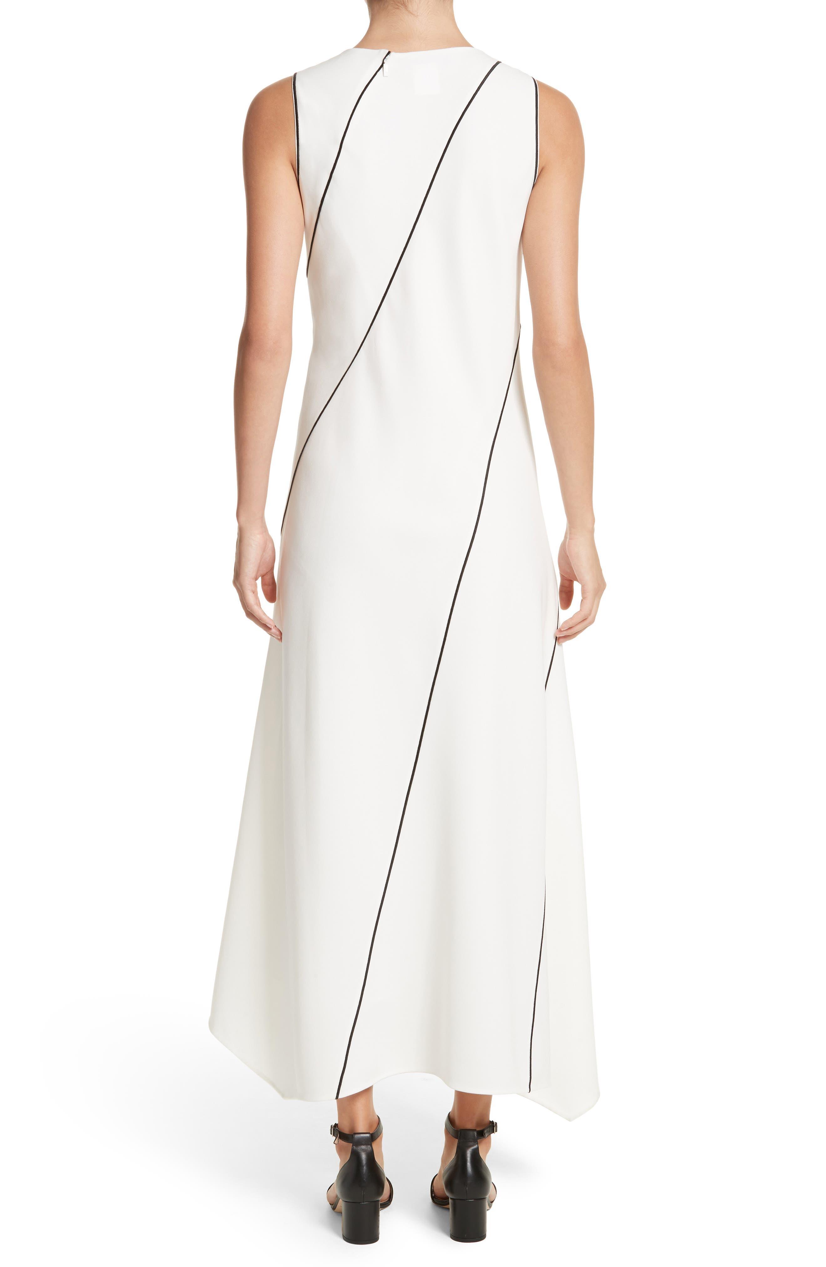 Madelia Crepe Midi Dress,                             Alternate thumbnail 2, color,