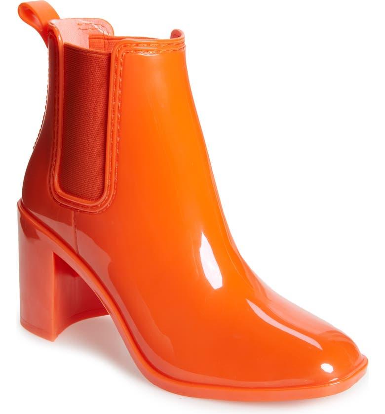 Hurricane Waterproof Boot, Main, color, ORANGE SHINY