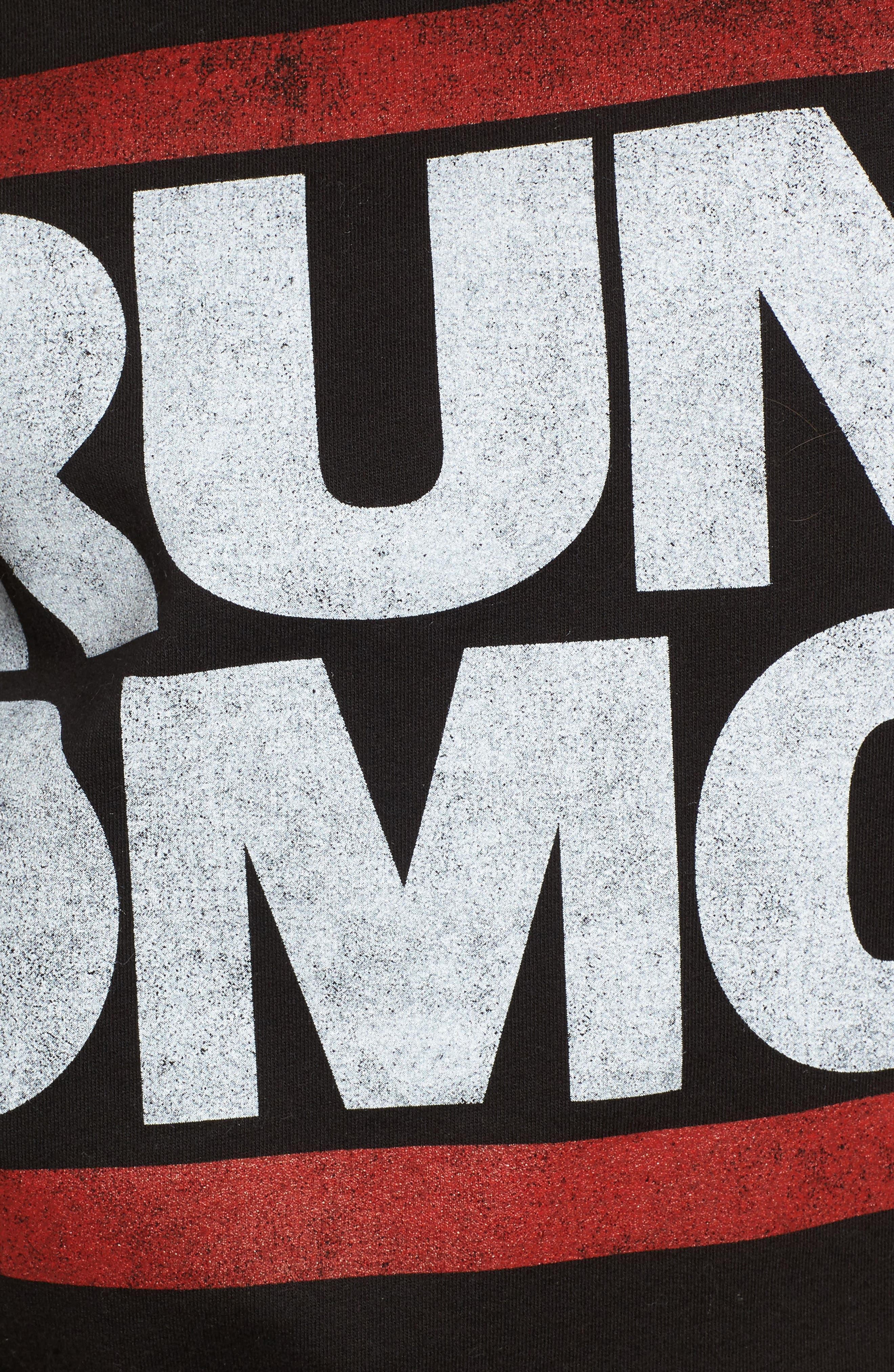 Run-DMC Sweatshirt,                             Alternate thumbnail 5, color,                             001