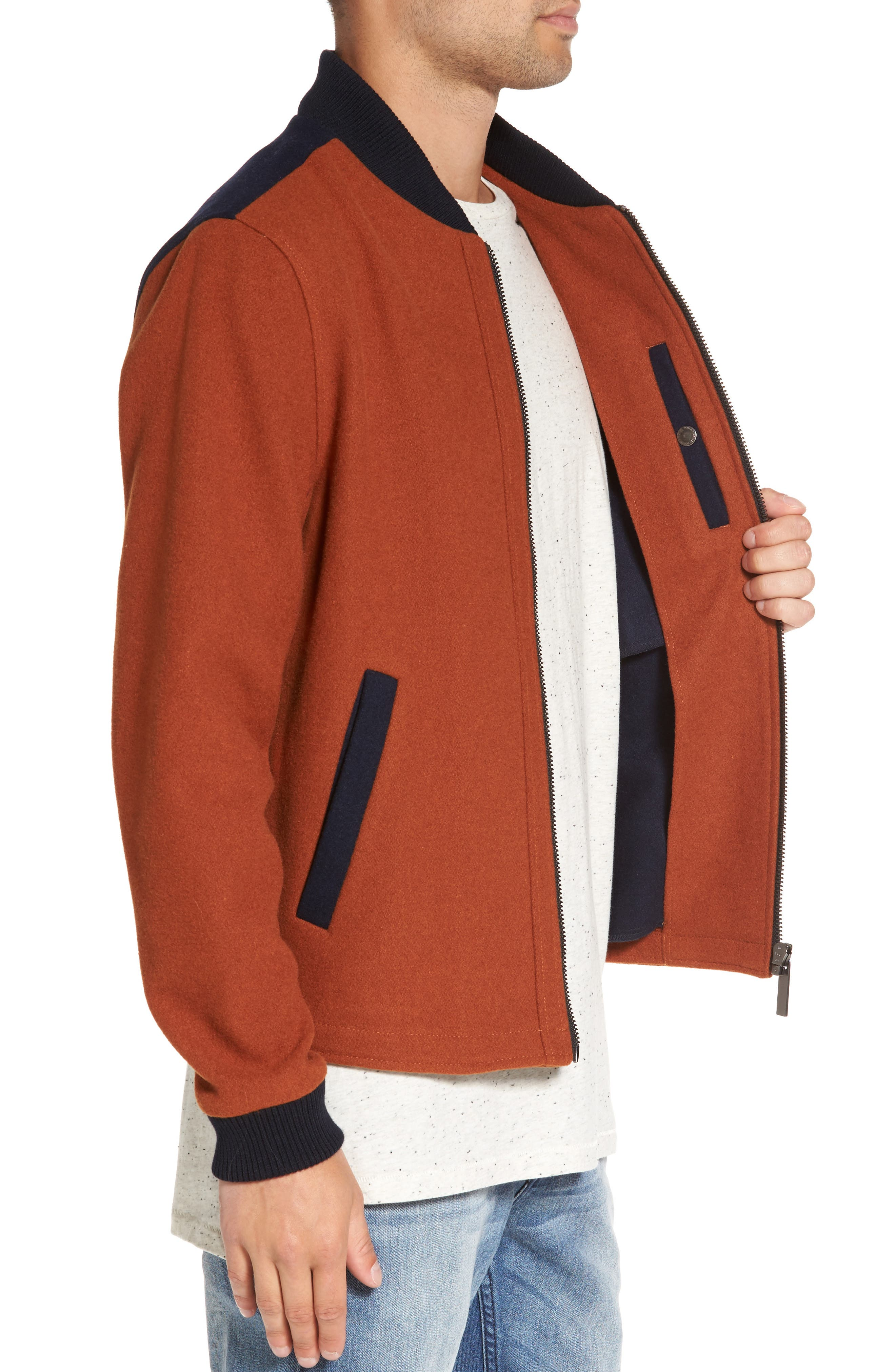 Maldon Bomber Jacket,                             Alternate thumbnail 3, color,                             800