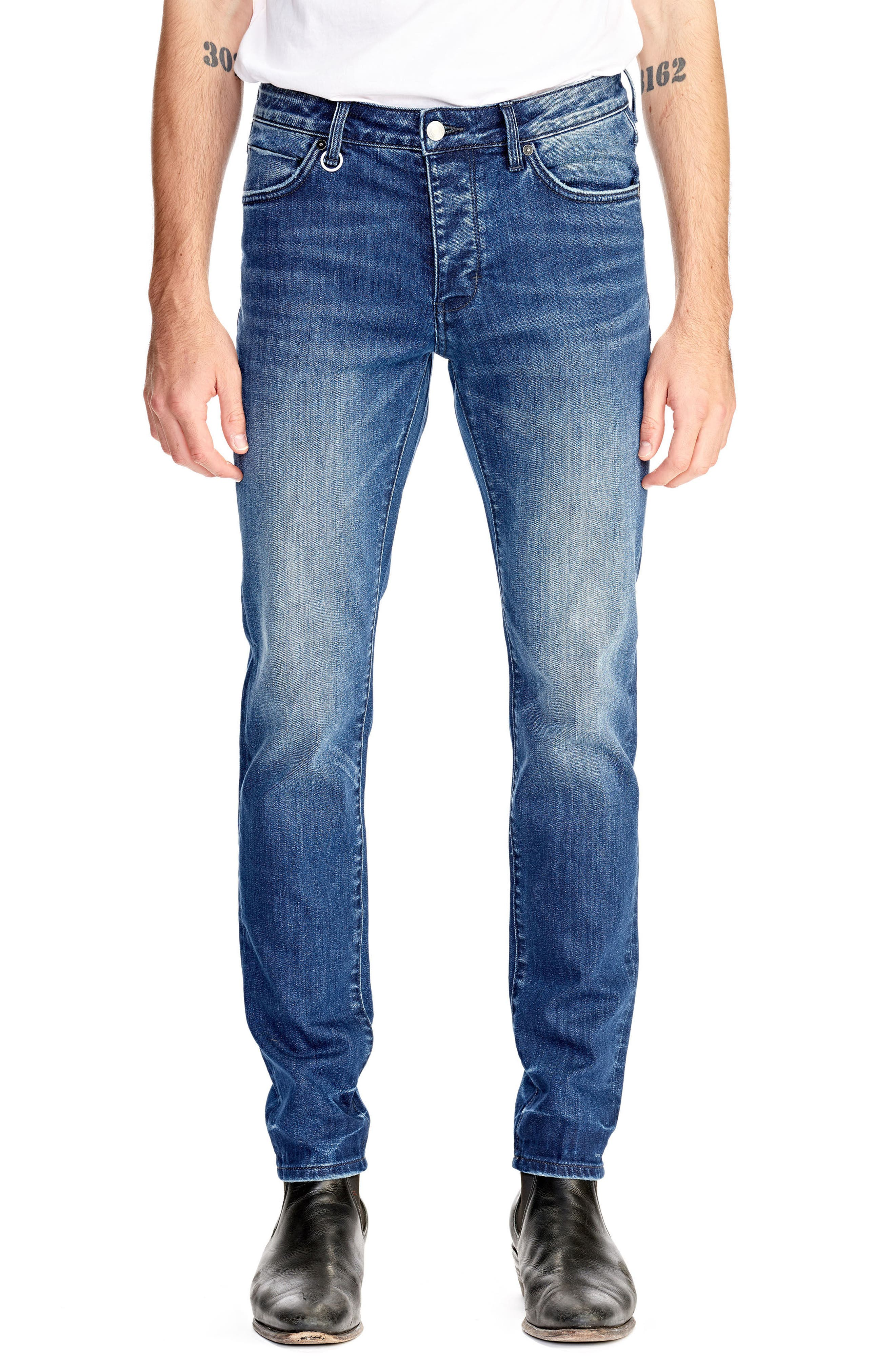 Iggy Skinny Fit Jeans,                         Main,                         color, ABNEY PARK